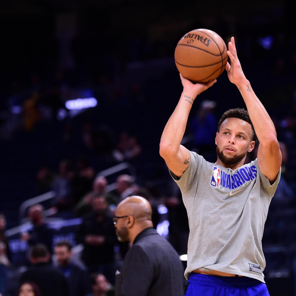 Warriors News: Stephen Curry's Injury Timetable to Be Re-Evaluated on Friday