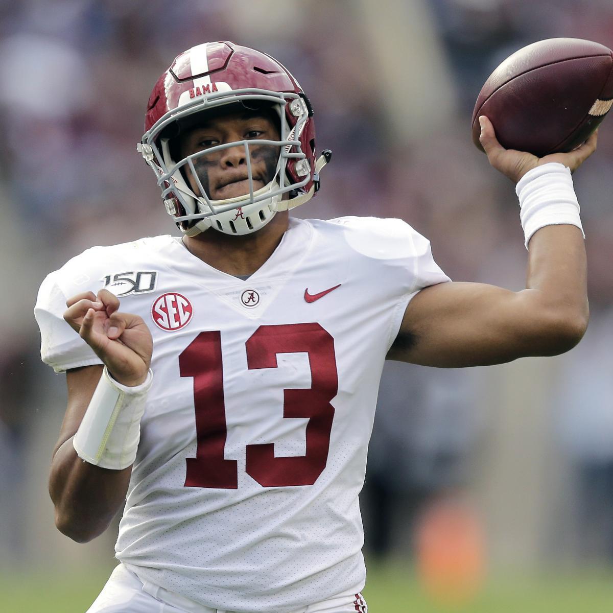 Redskins Rumors: Drafting a QB No. 2 'Very Real Possibility' Amid Tua Buzz