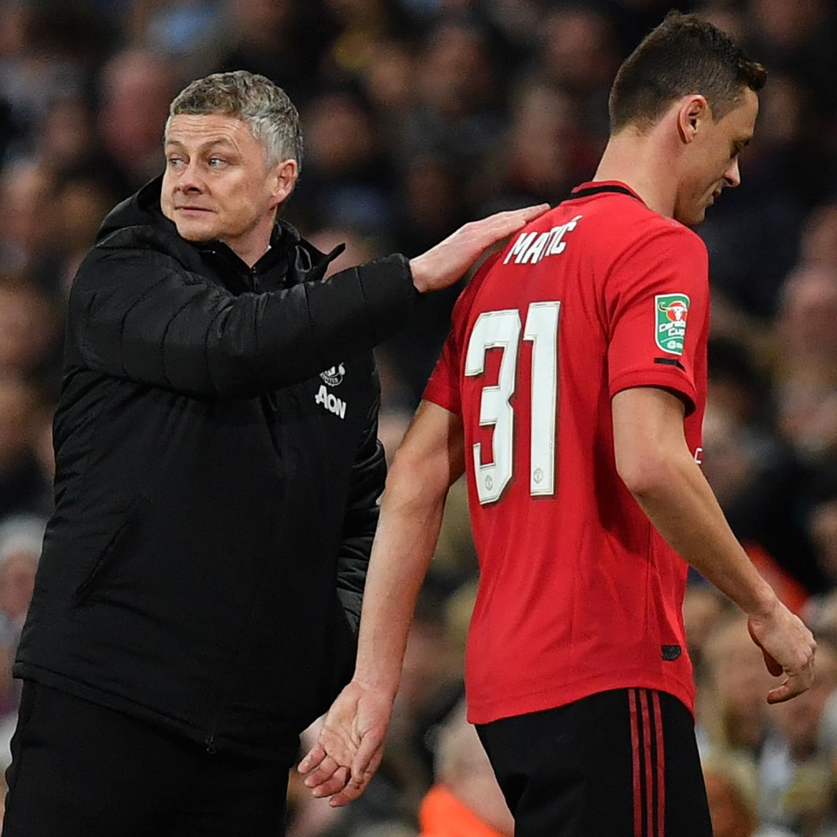 Nemanja Matic on Ole Gunnar Solskjaer: 'Every Day He Is Improving' at Man United