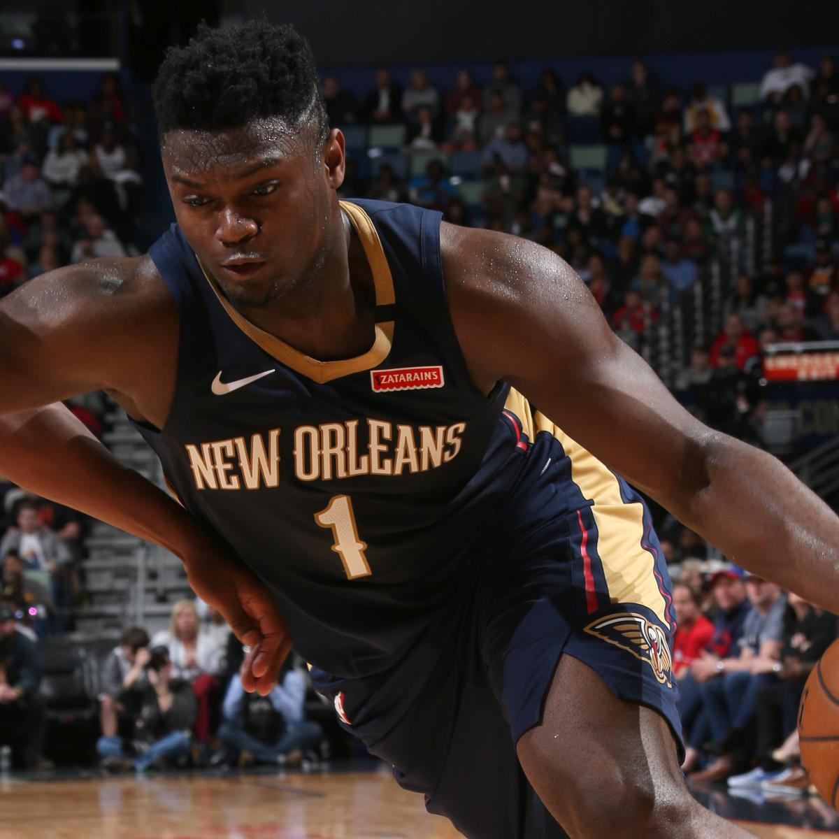 Zion Williamson Continues Hot Streak with 24 Points in Pelicans' Win over Cavs | Bleacher Report | Latest News, Videos and Highlights