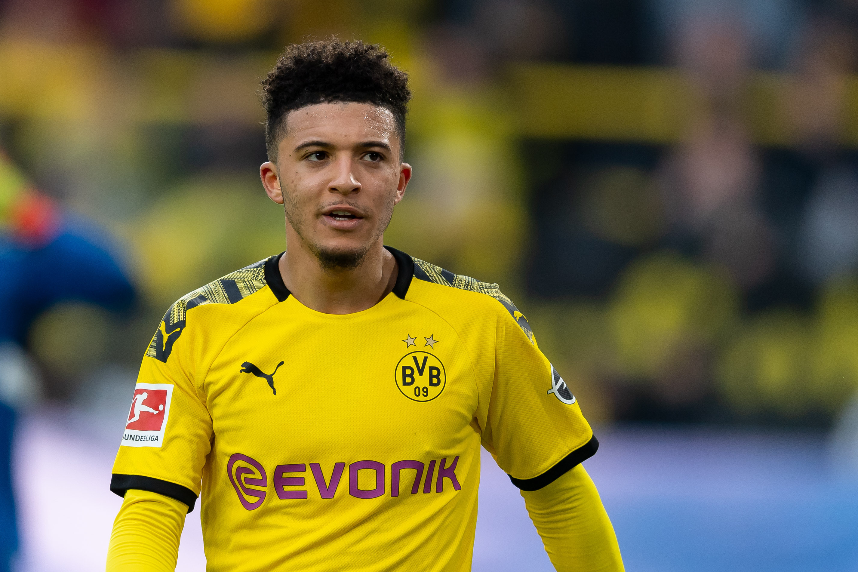 Jadon Sancho Is 'Very Happy' at Borussia Dortmund, Says Hans ...