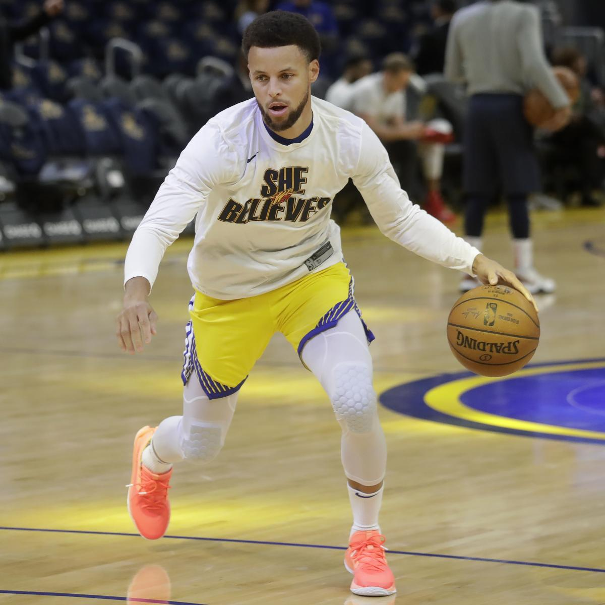 Stephen Curry Assigned to Warriors' G League Team Amid Injury Recovery