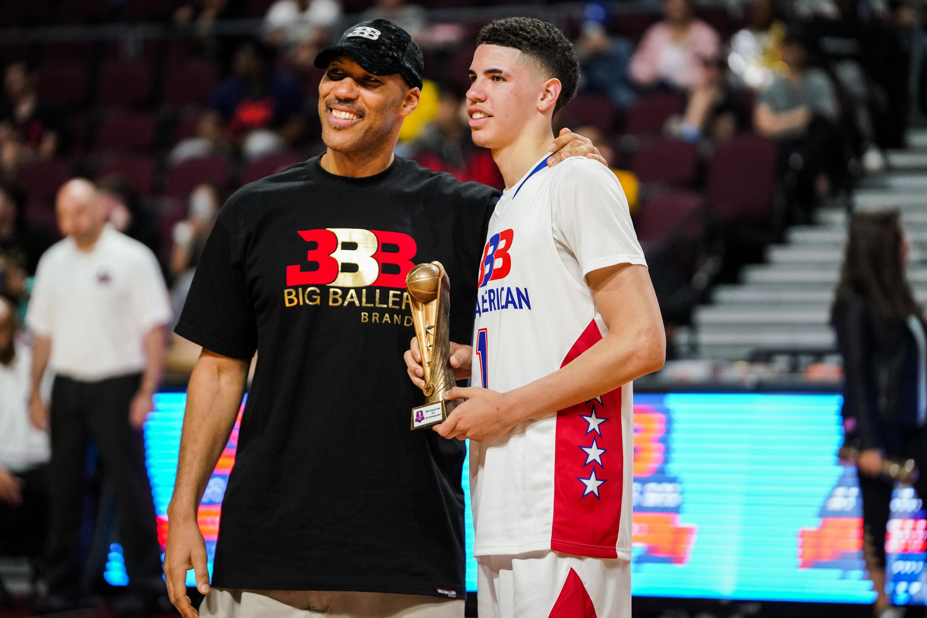 LaVar Ball Talks LaMelo to Knicks, Lonzo Making Zion Better ...