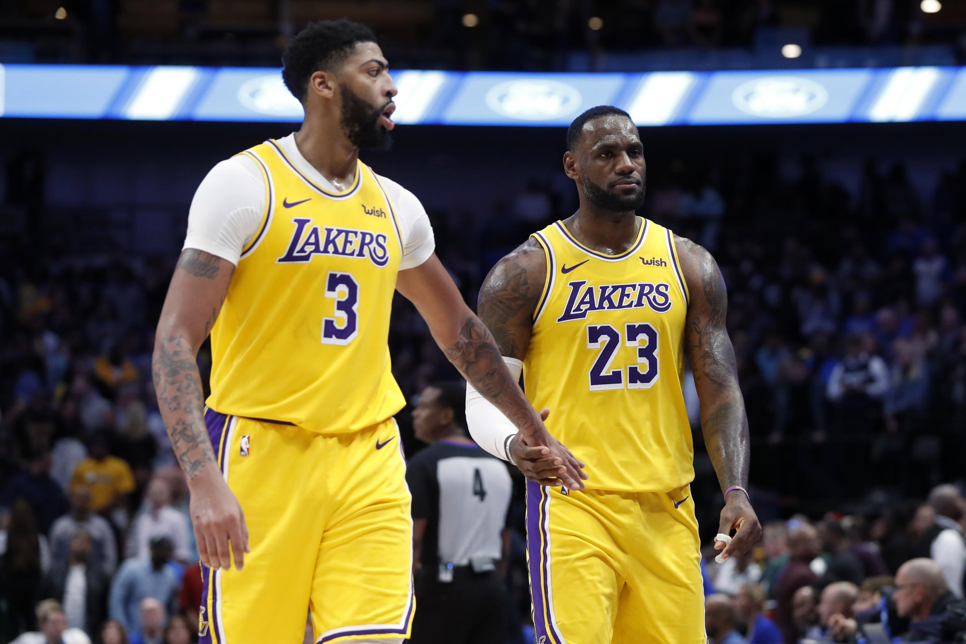 Lakers' LeBron James Says Anthony Davis 'Everything I Expected and More' |  Bleacher Report | Latest News, Videos and Highlights