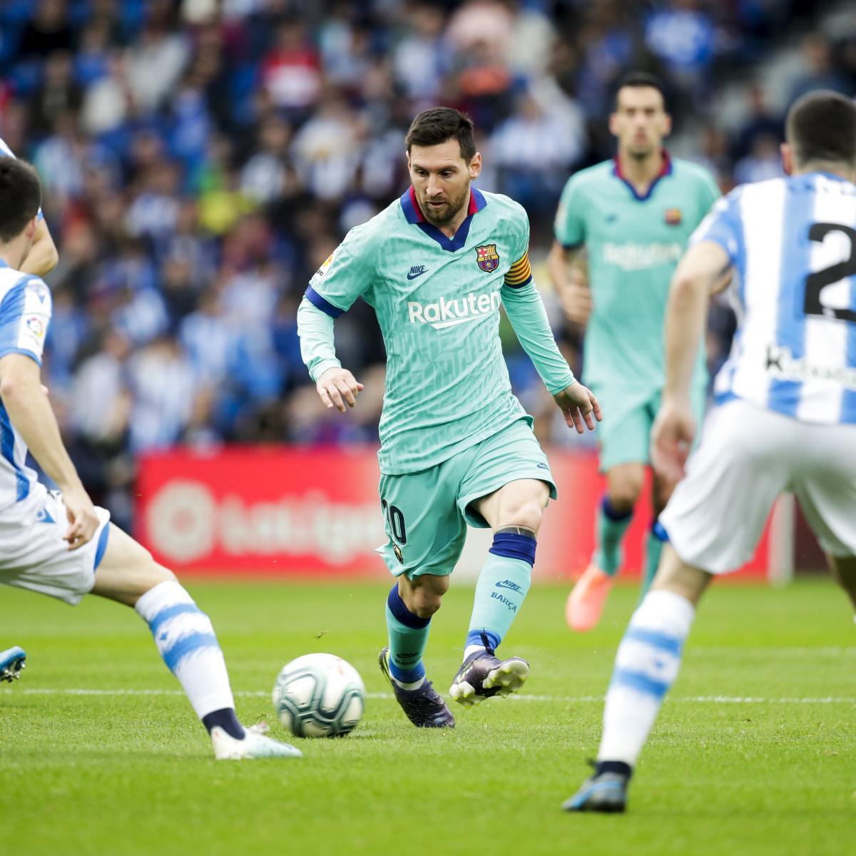 Barcelona vs. Real Sociedad: Odds, Live Stream, TV ...
