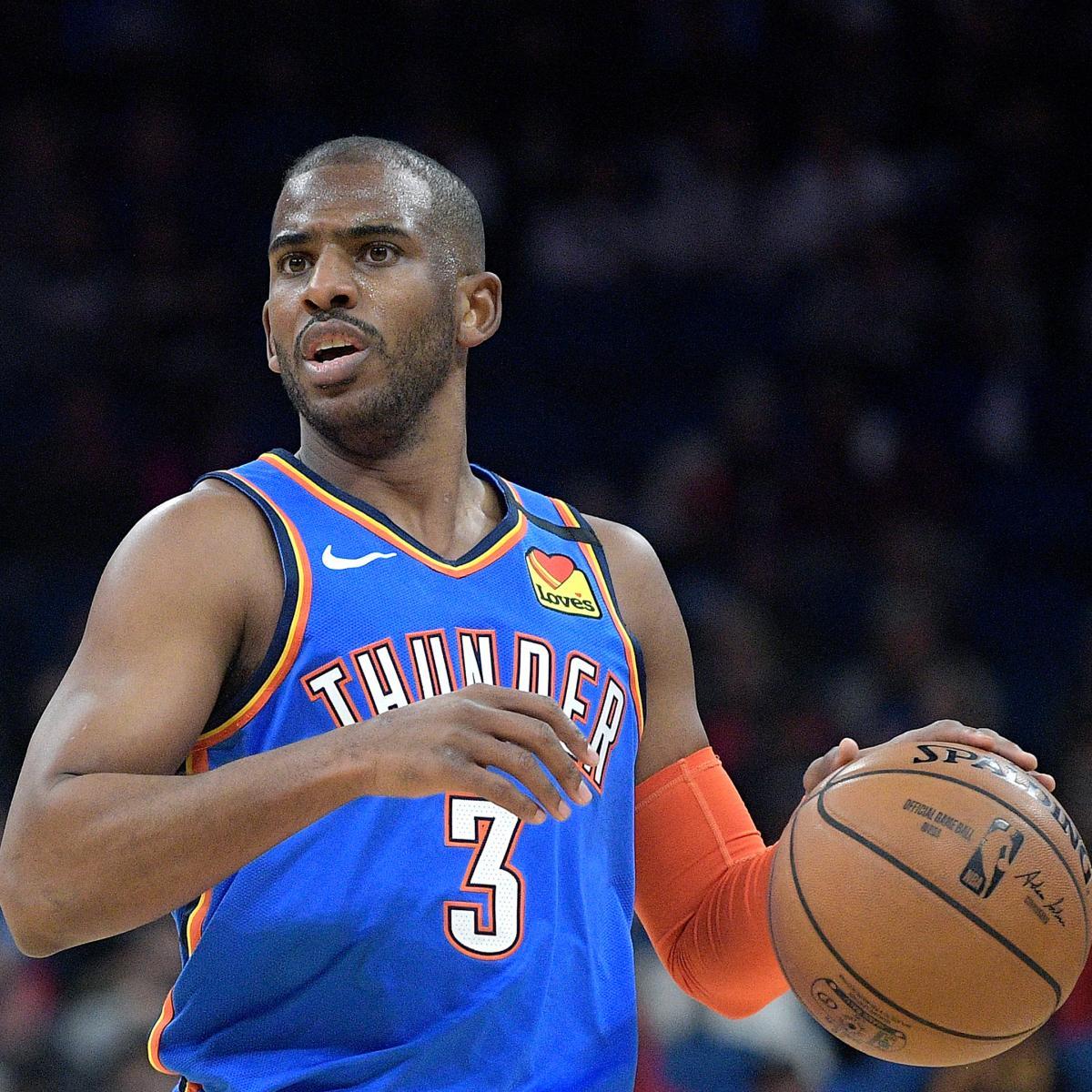 Knicks Trade Rumors: NY Gathering Chris Paul Intel for Possible Offseason Move