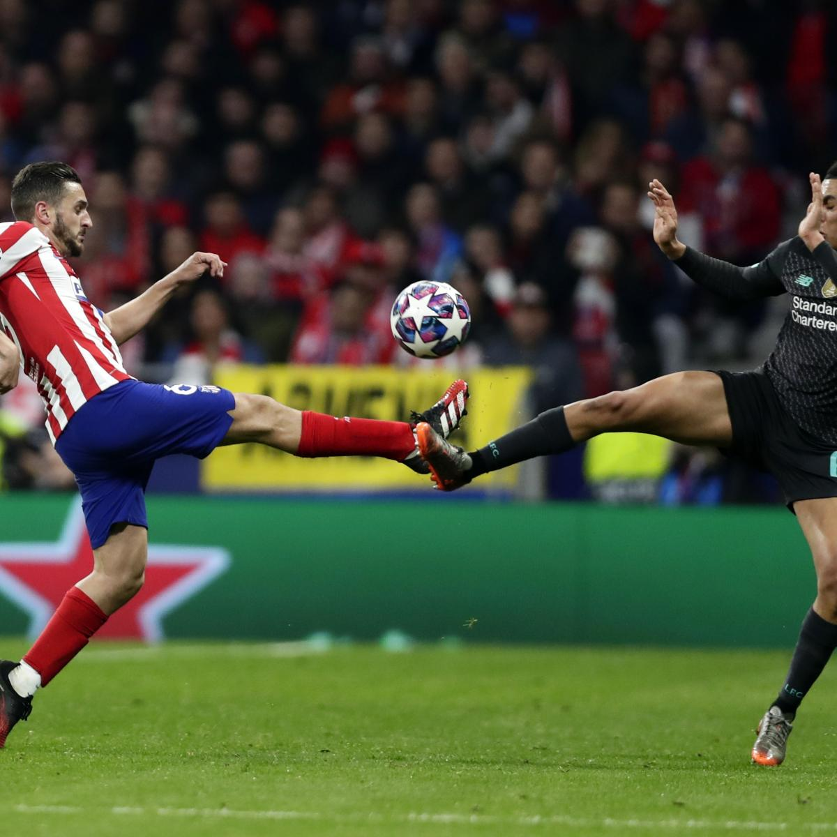 Liverpool vs. Atletico Madrid: UCL Odds, Live Stream, TV Schedule