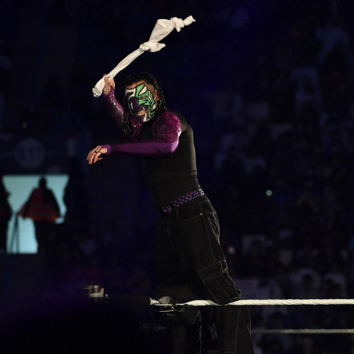 WWE Announces Jeff Hardy, Paige Will Return on SmackDown Amid Rumors