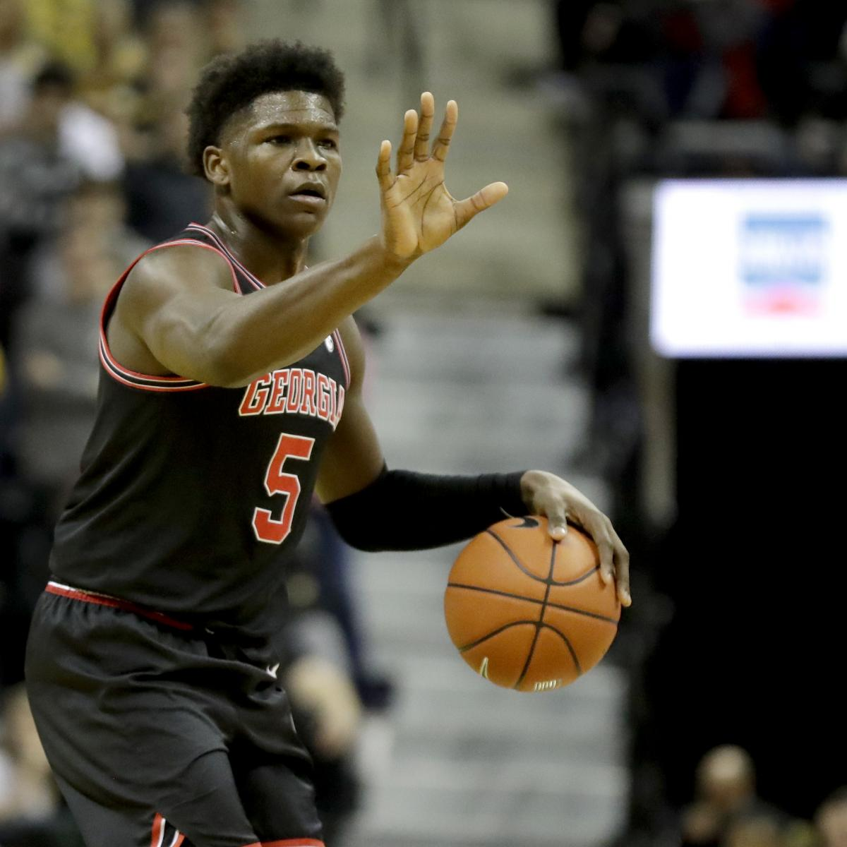 NBA Draft 2020: Latest Mock Draft Ahead of NCAA Tournament
