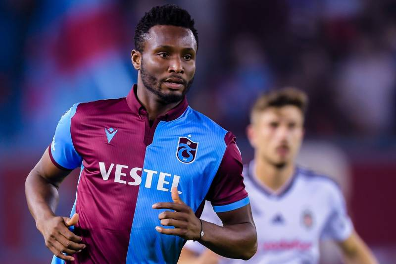Image result for pic of mikel obi in trabzonspor