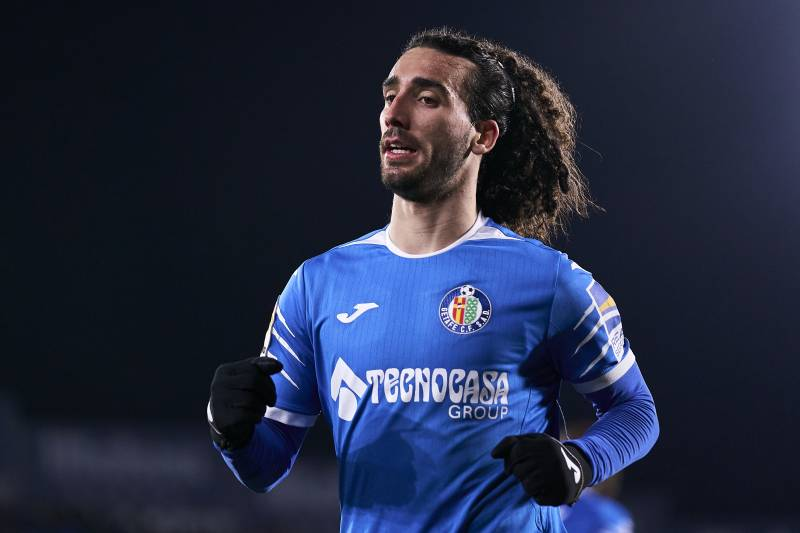 Report: Getafe Use Option on Barcelona's Marc Cucurella amid ...