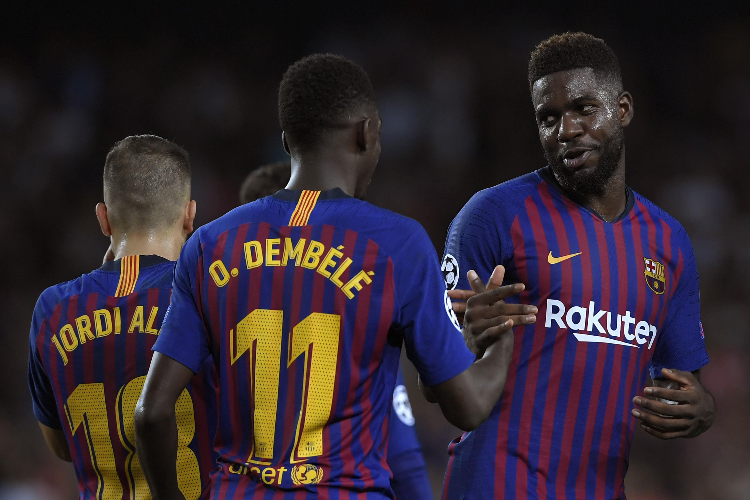 Reports: Barcelona Consider Samuel Umtiti and Ousmane Dembele Summer  Transfers | Bleacher Report | Latest News, Videos and Highlights