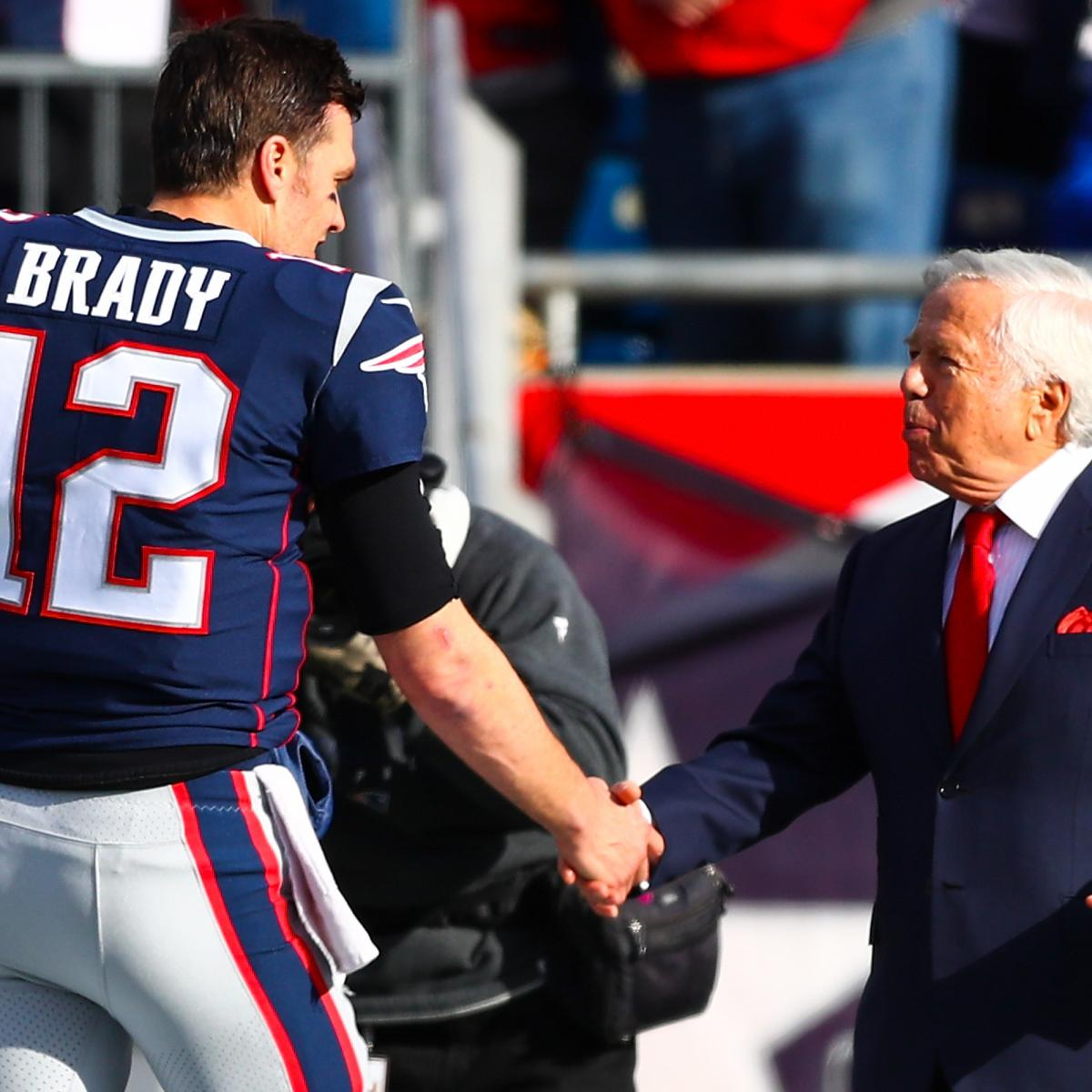 Robert Kraft on Tom Brady Leaving Patriots: 'I Love Him Like a Son'