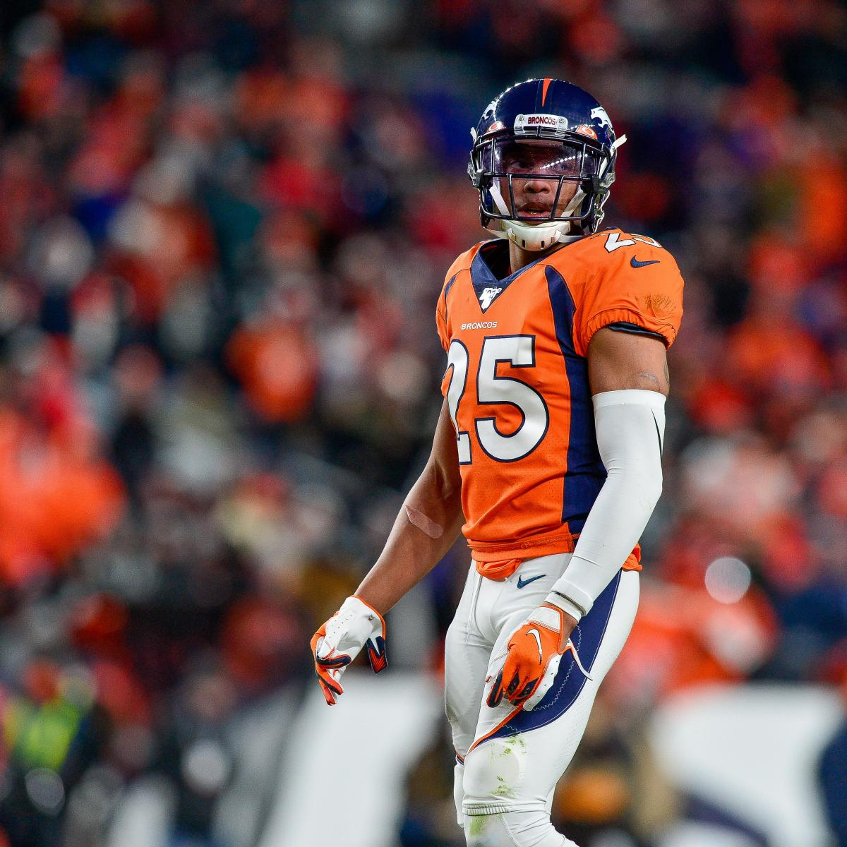 Chris Harris Jr. Says He Needs 15 More INT, 2 All-Pro Nods to Be Hall of Famer