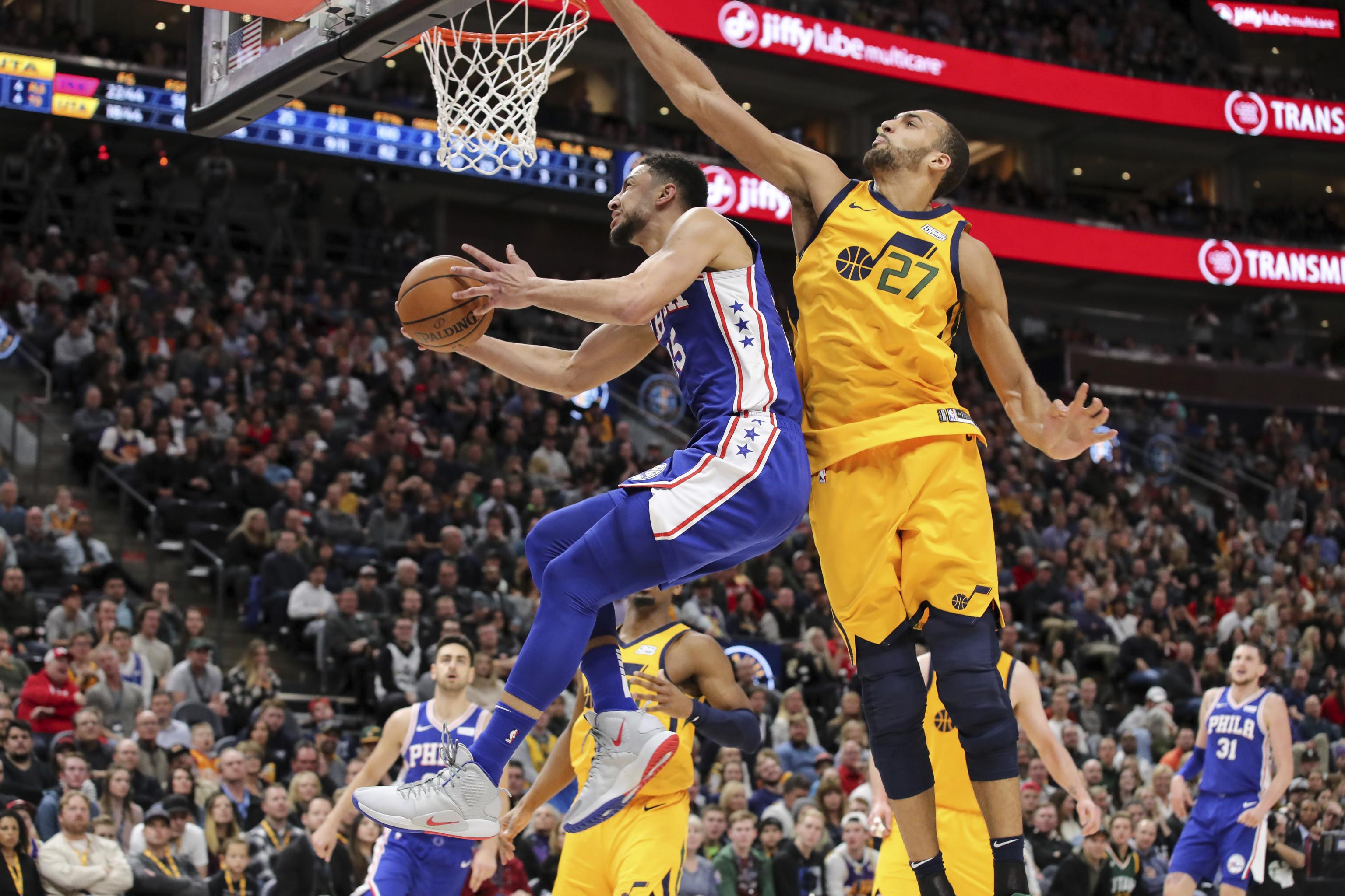 Ben Simmons Says Rudy Gobert Isn't Top 5 NBA Defender on Twitch Live Stream  | Bleacher Report | Latest News, Videos and Highlights