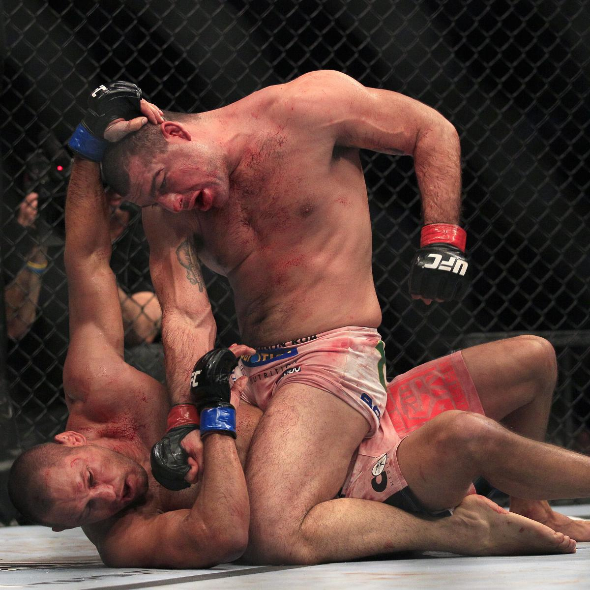 Ranking the Best Fights from ESPN's 'UFC Day'