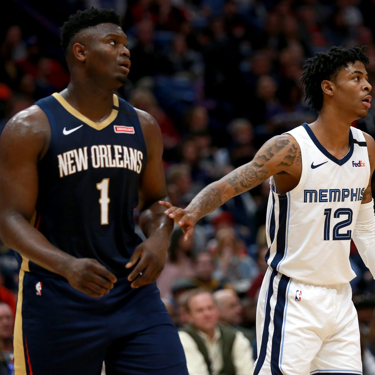 Ja Morant Named Unanimous NBA ROY over Zion Williamson in ESPN Survey