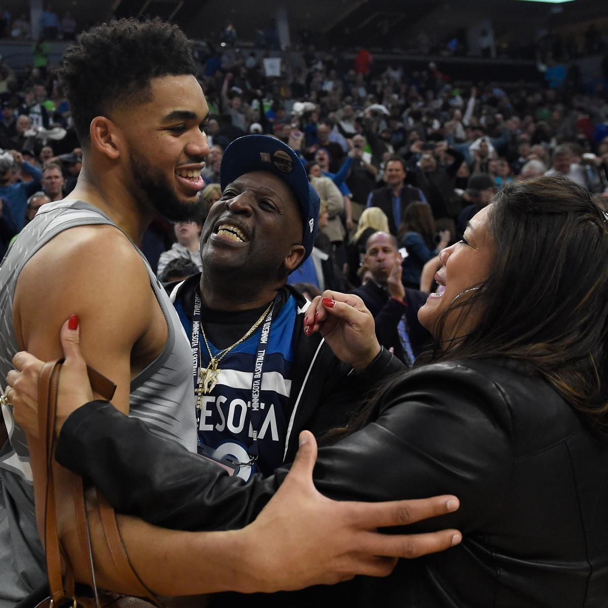 Karl-Anthony Towns' Father Reportedly 'Recovering Well' from the Coronavirus