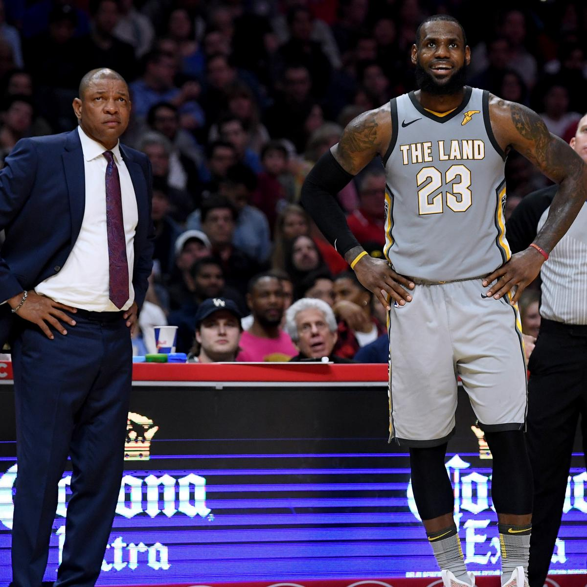 Doc Rivers on LeBron James: 'There's No One in the League with His Brain'