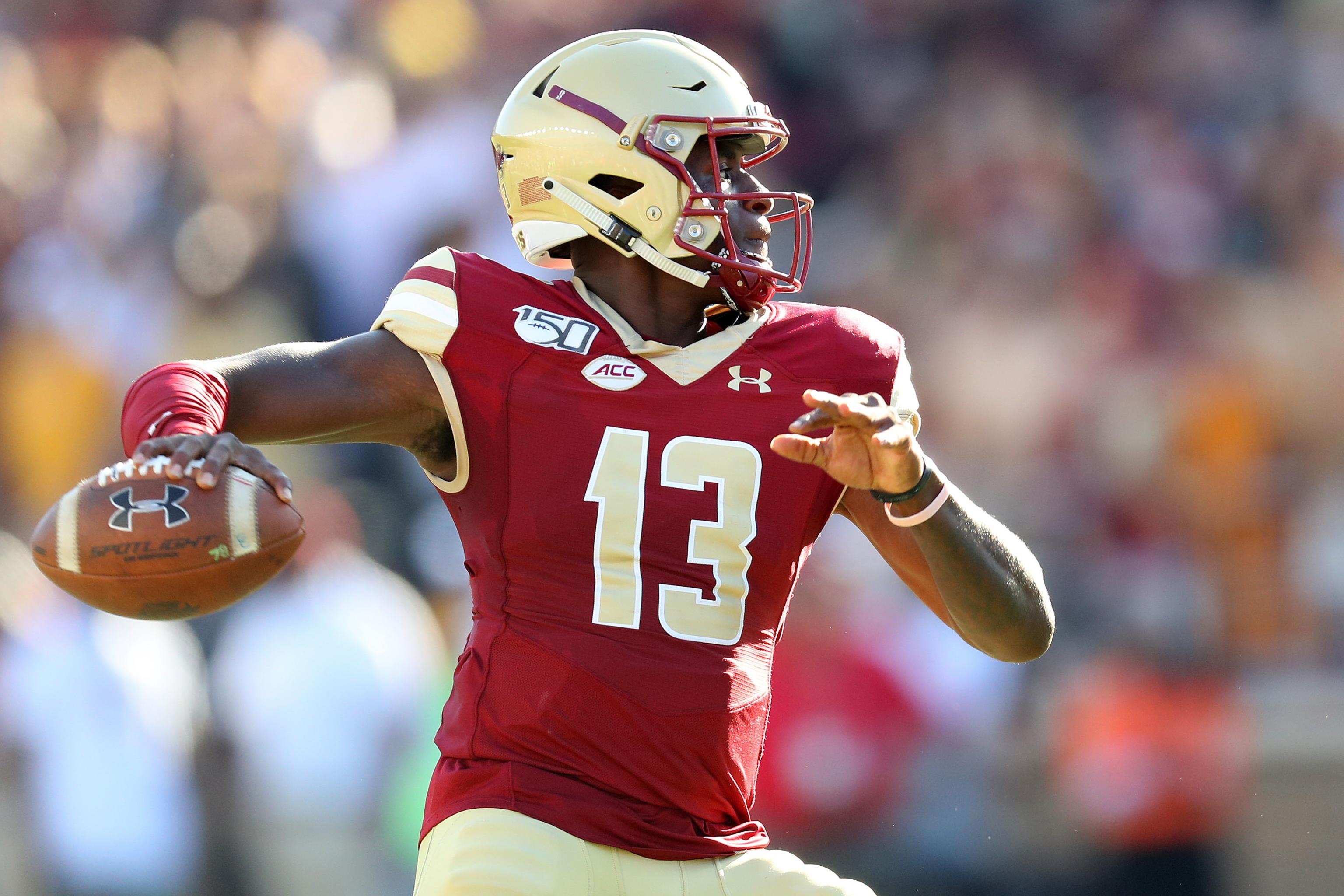 Report Qb Anthony Brown Transfers To Oregon From Bc Eligible To Play In 2020 Bleacher Report Latest News Videos And Highlights