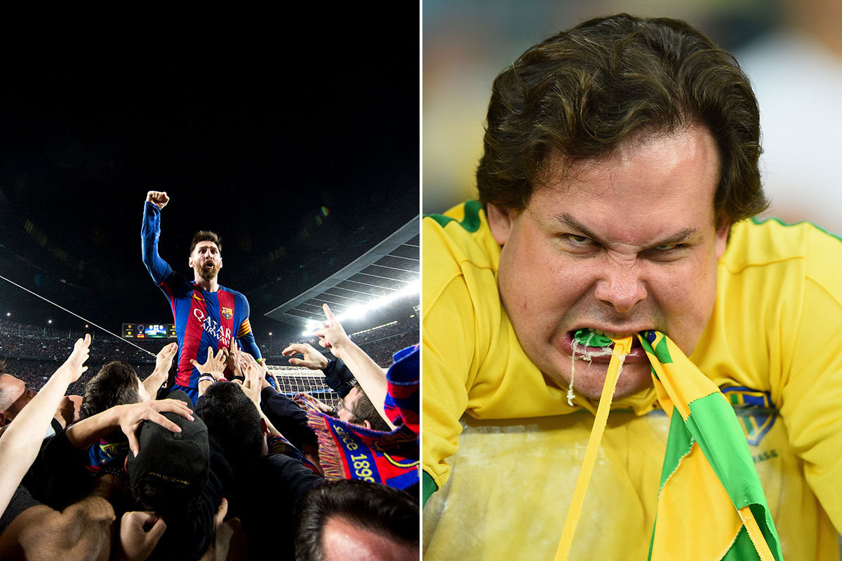 The Stories Behind Some of Football's Most Iconic Photographs