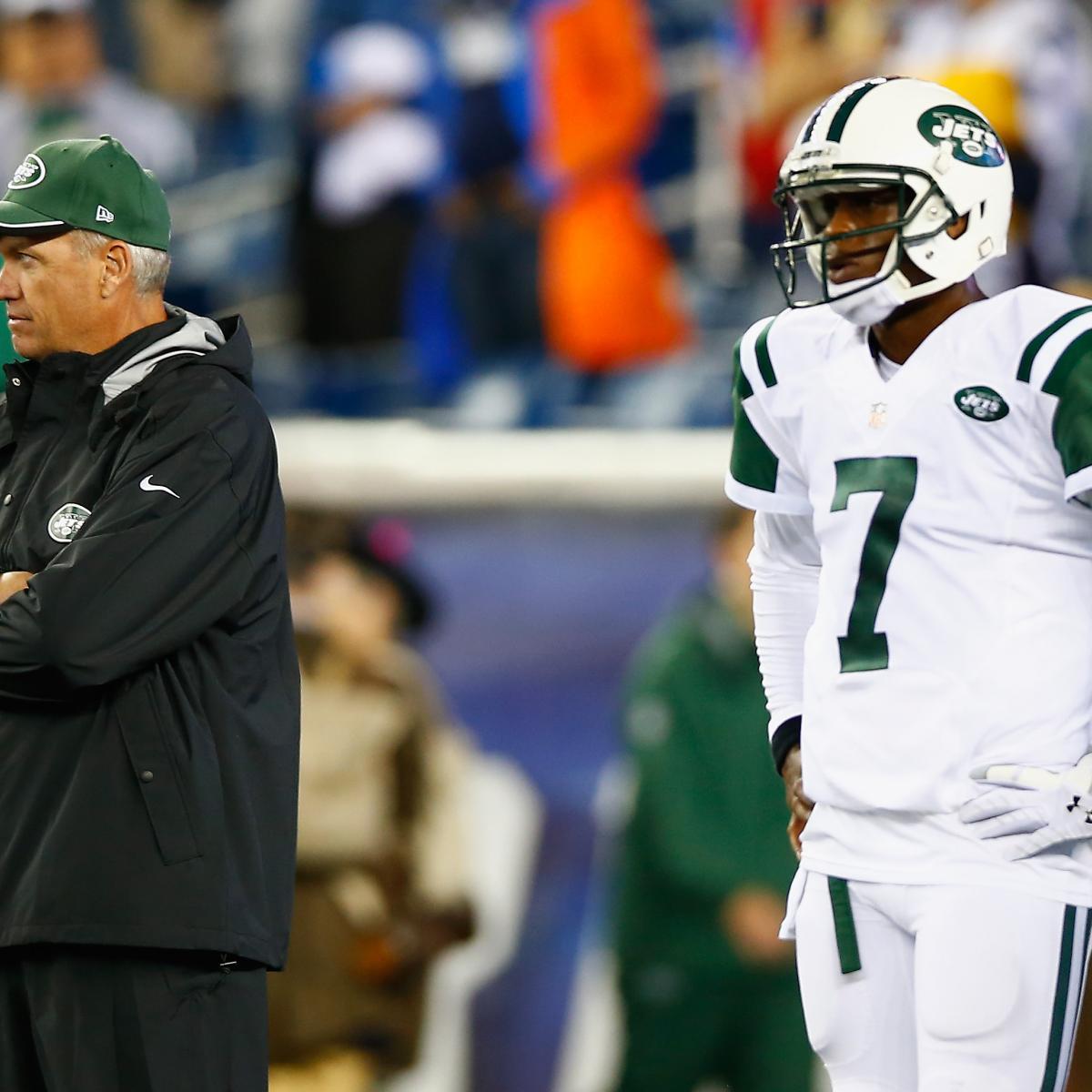 NY Jets Rumors: Geno Smith, Bryce Petty Battle After Ryan