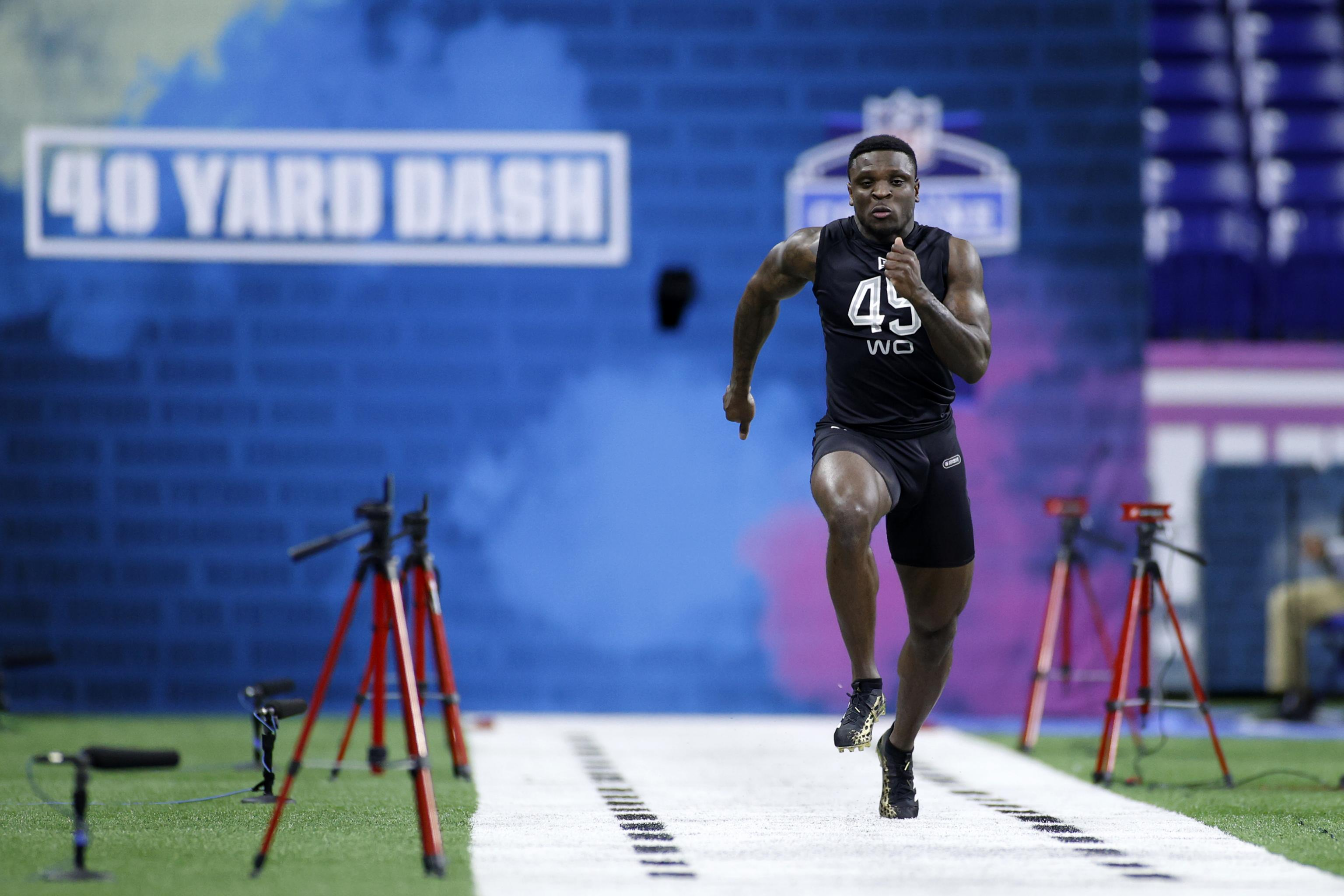 Video: Jalen Reagor Runs Unofficial 4.22-Second 40 at Virtual NFL ...