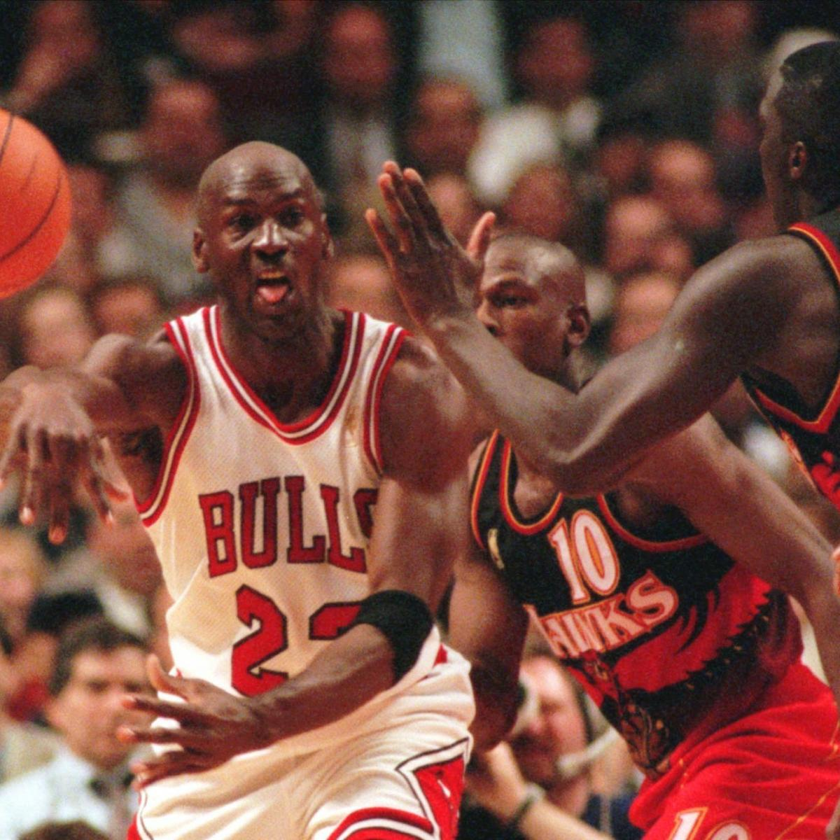 Michael Jordan Went to Hawks Room to Say It'll 'Be a Long F--king Night' in 1987