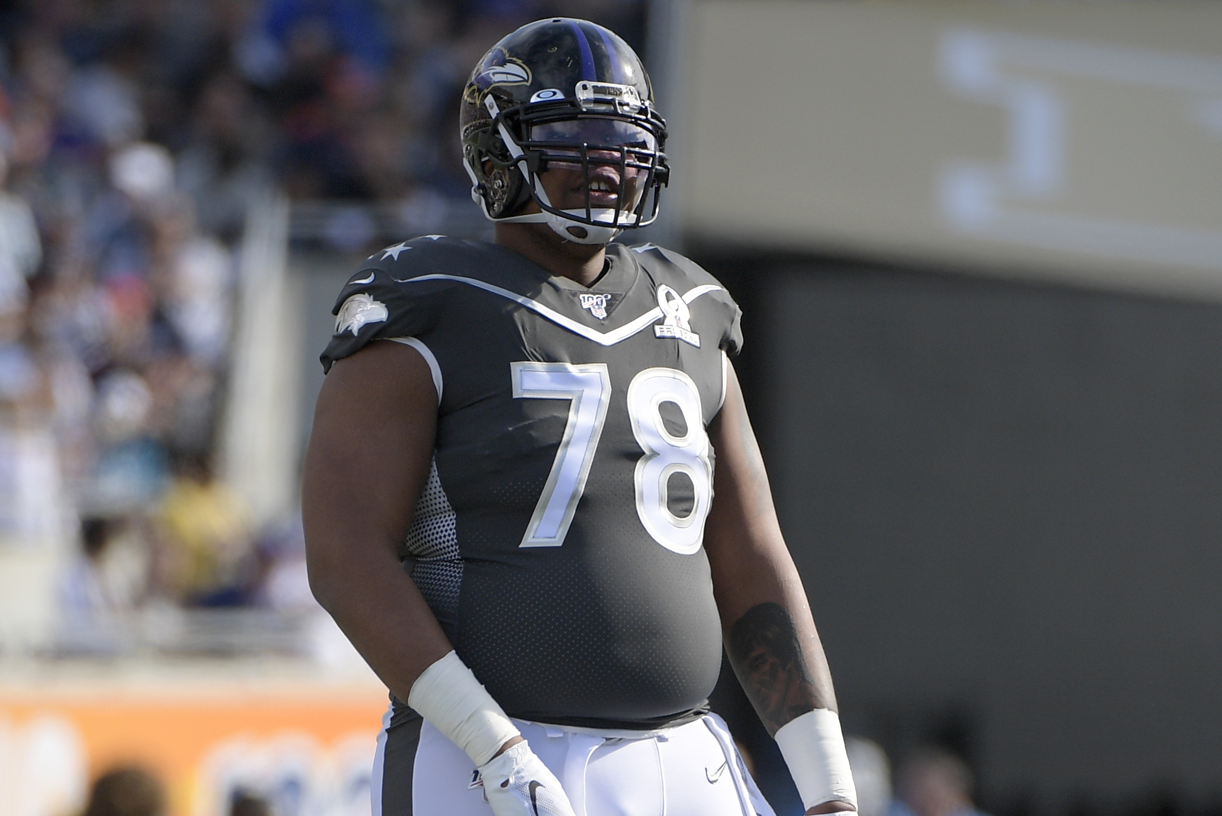 Ravens' Orlando Brown Jr.: 'I'm a Little Worried' NFL Season Will Be  Canceled | Bleacher Report | Latest News, Videos and Highlights