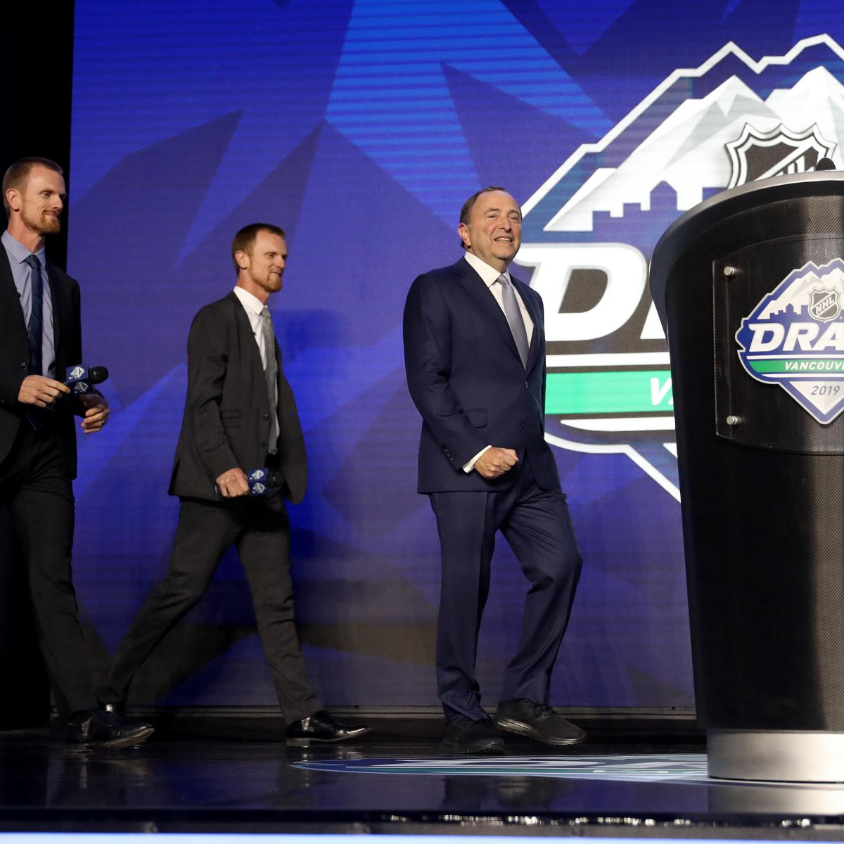 NHL Draft 2020: Projected Lottery Odds, Selection Order for 1st Round