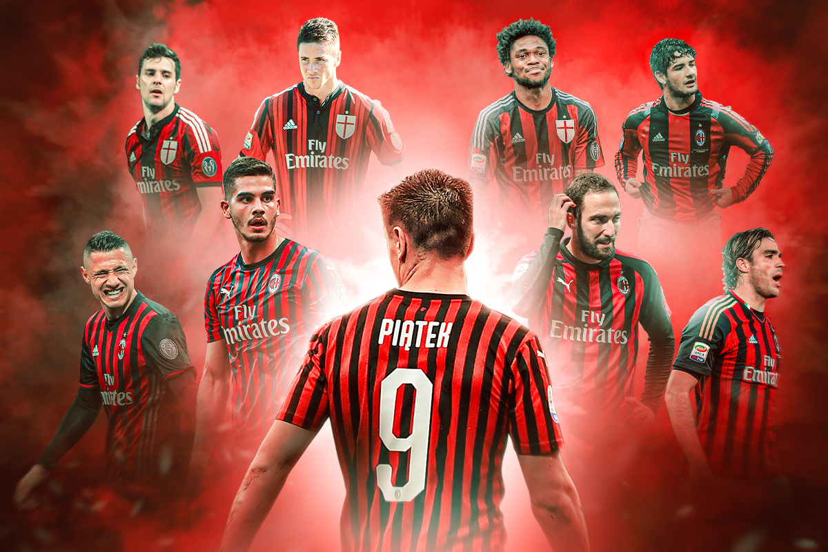 Curse Or Coincidence The Troubled Recent Past Of Ac Milan S No 9 Shirt Bleacher Report Latest News Videos And Highlights
