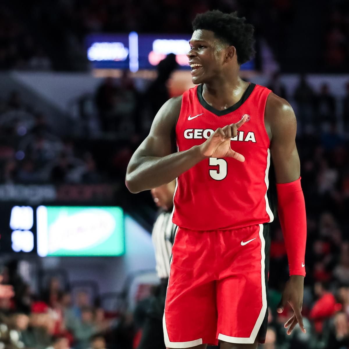 NBA Mock Draft 2020: Landing Spots for Anthony Edwards, Top ROY Prospects