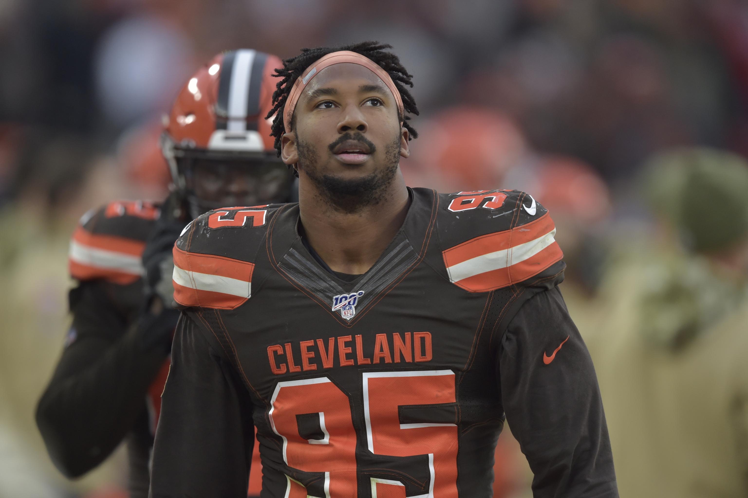 Browns' Myles Garrett Only 20 Top 20 Pick to Get 20 Contract ...