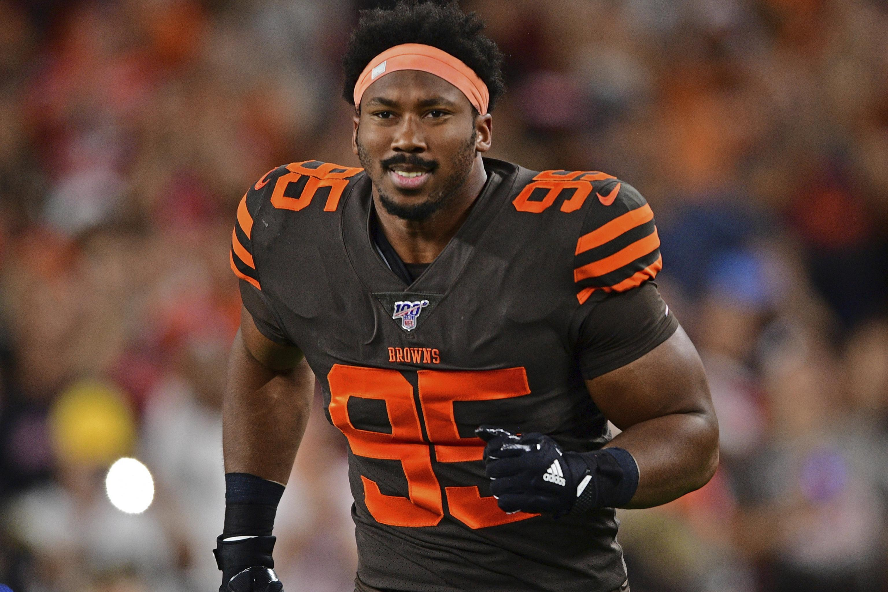 Myles Garrett, Browns Reportedly Nearing 20 Year, $1220M Contract ...