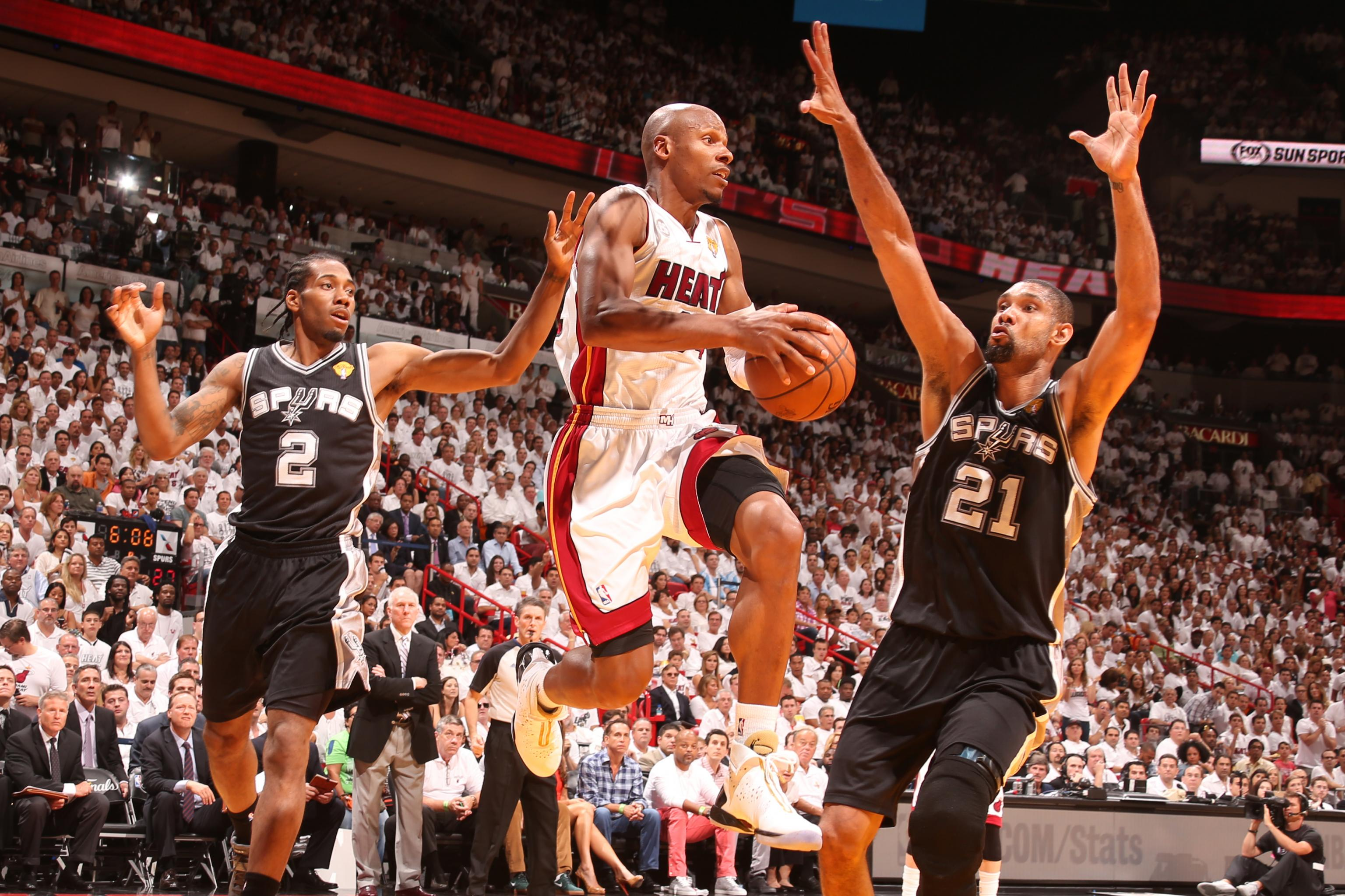 Heat's Udonis Haslem: Ray Allen's 3 in 2013 NBA Finals Game 7 ...