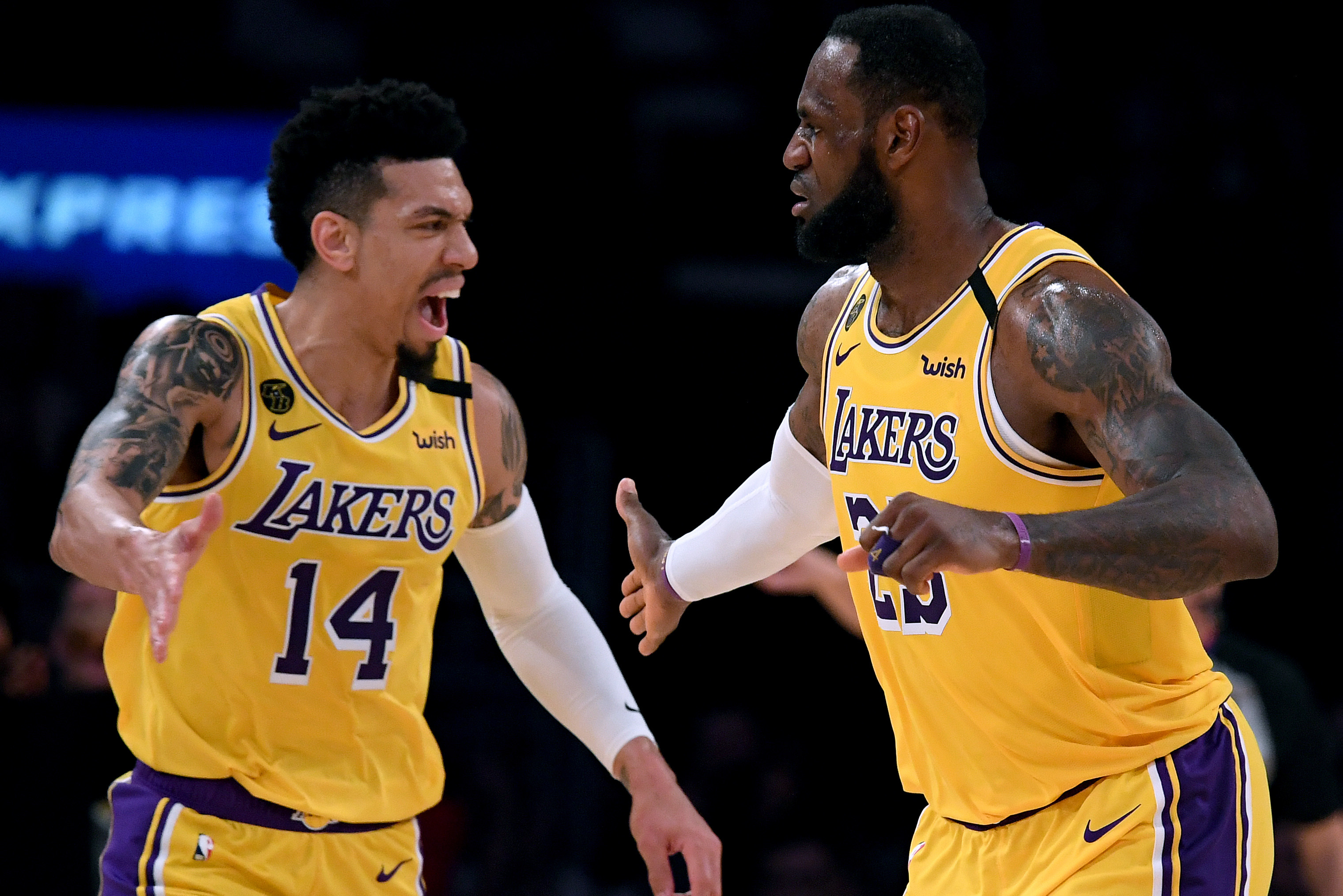 Lakers Danny Green Believes Lebron James Is Nba S Mvp He S Our Engine Bleacher Report Latest News Videos And Highlights