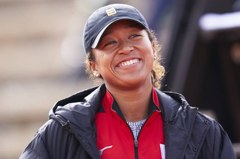CARTAGENA, SPAIN - FEBRUARY 08: Naomi Osaka of Japan participates in the Fed Cup qualifier 2020 between Spain and Japan at the Centro de Tenis La Manga Club on February 08, 2020 in Cartagena, Spain. (Photo by Quality Sport Images / Getty Images)