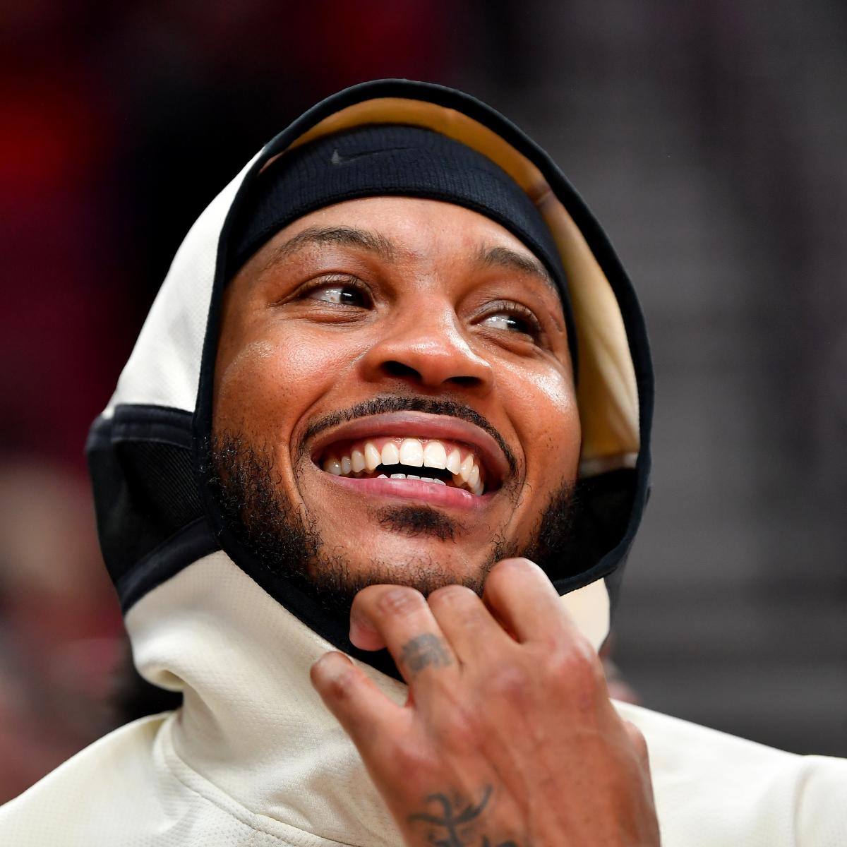 Report: Carmelo Anthony Finalizing 1-Year Contract to Re-Sign with Trail Blazers