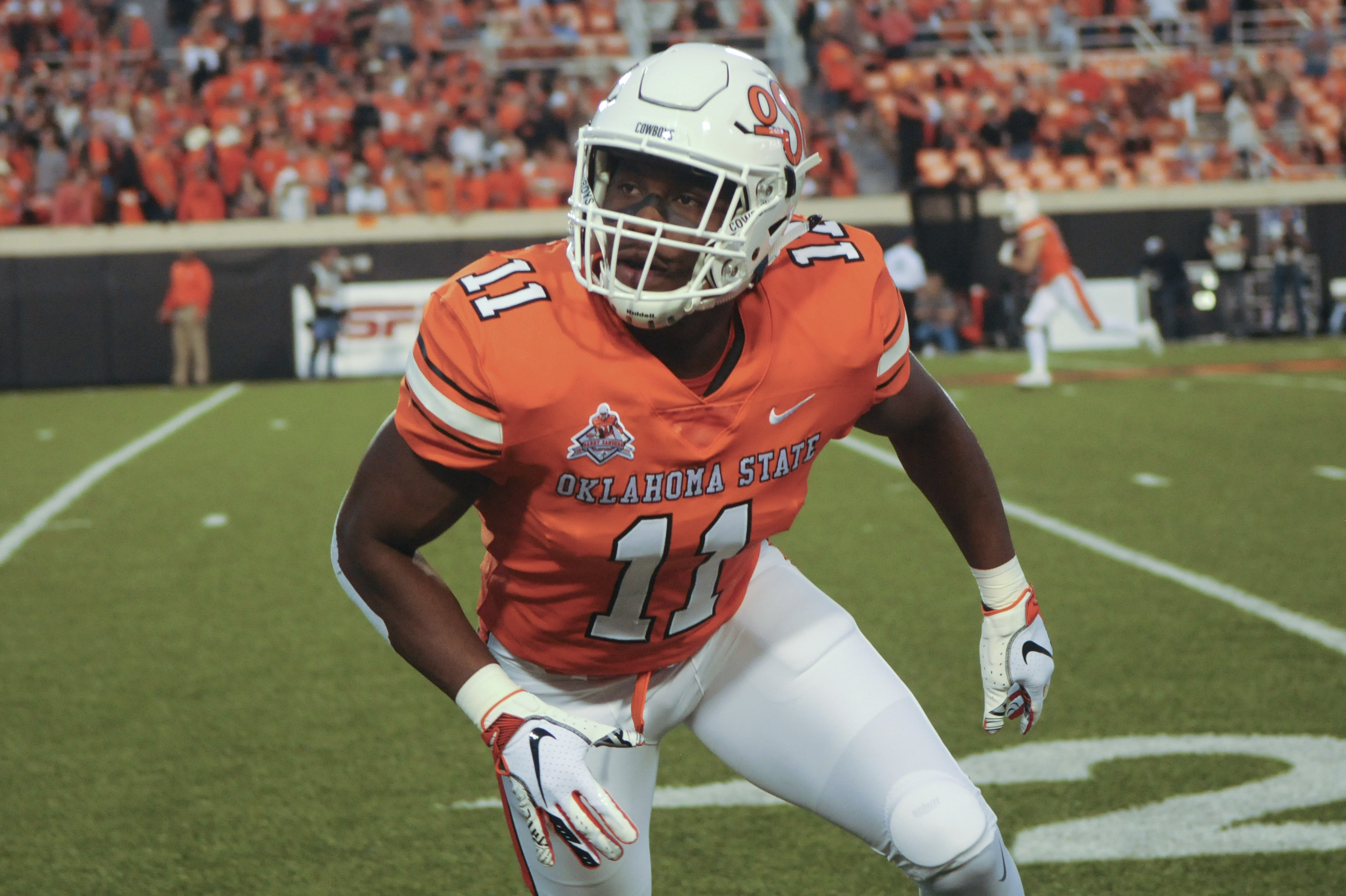 Oklahoma State LB Amen Ogbongbemiga Says He's Tested Positive for COVID-19  | Bleacher Report | Latest News, Videos and Highlights