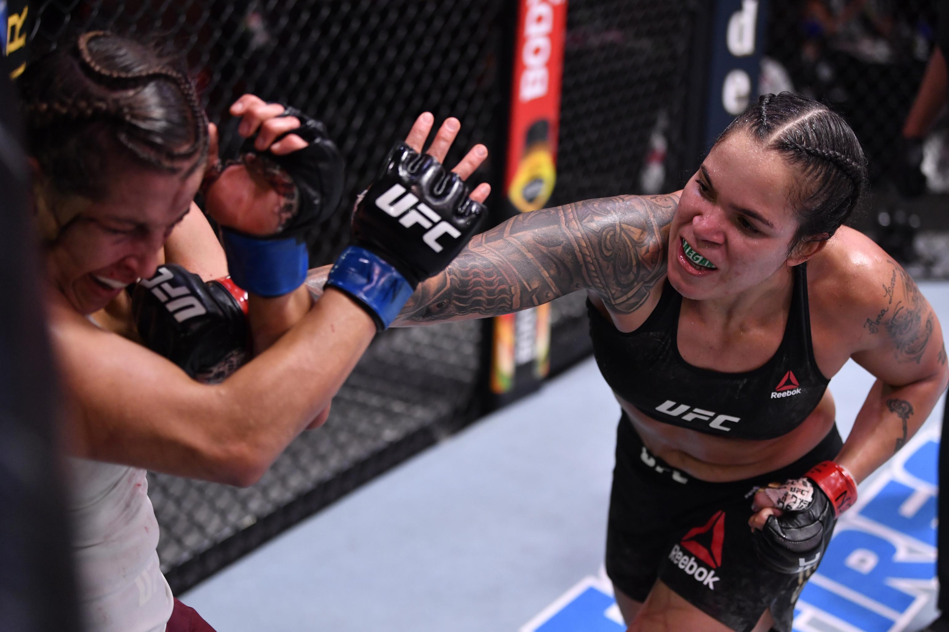 Amanda Nunes Beats Felicia Spencer Via Decision, Retains Title at ...