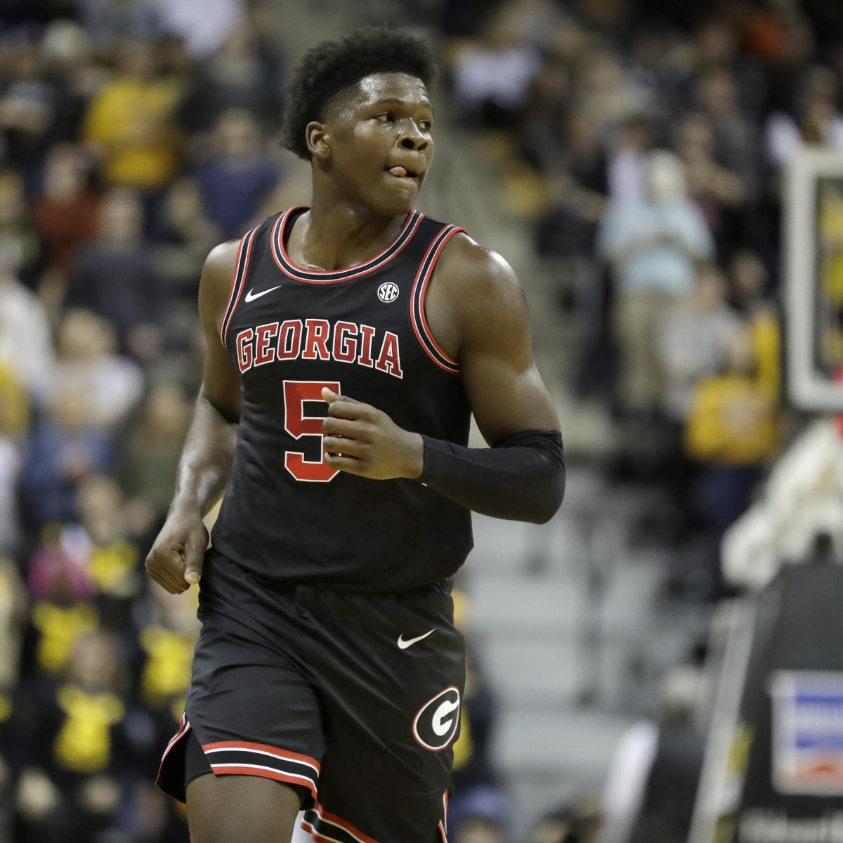 nba mock draft 2020 updated predictions for anthony