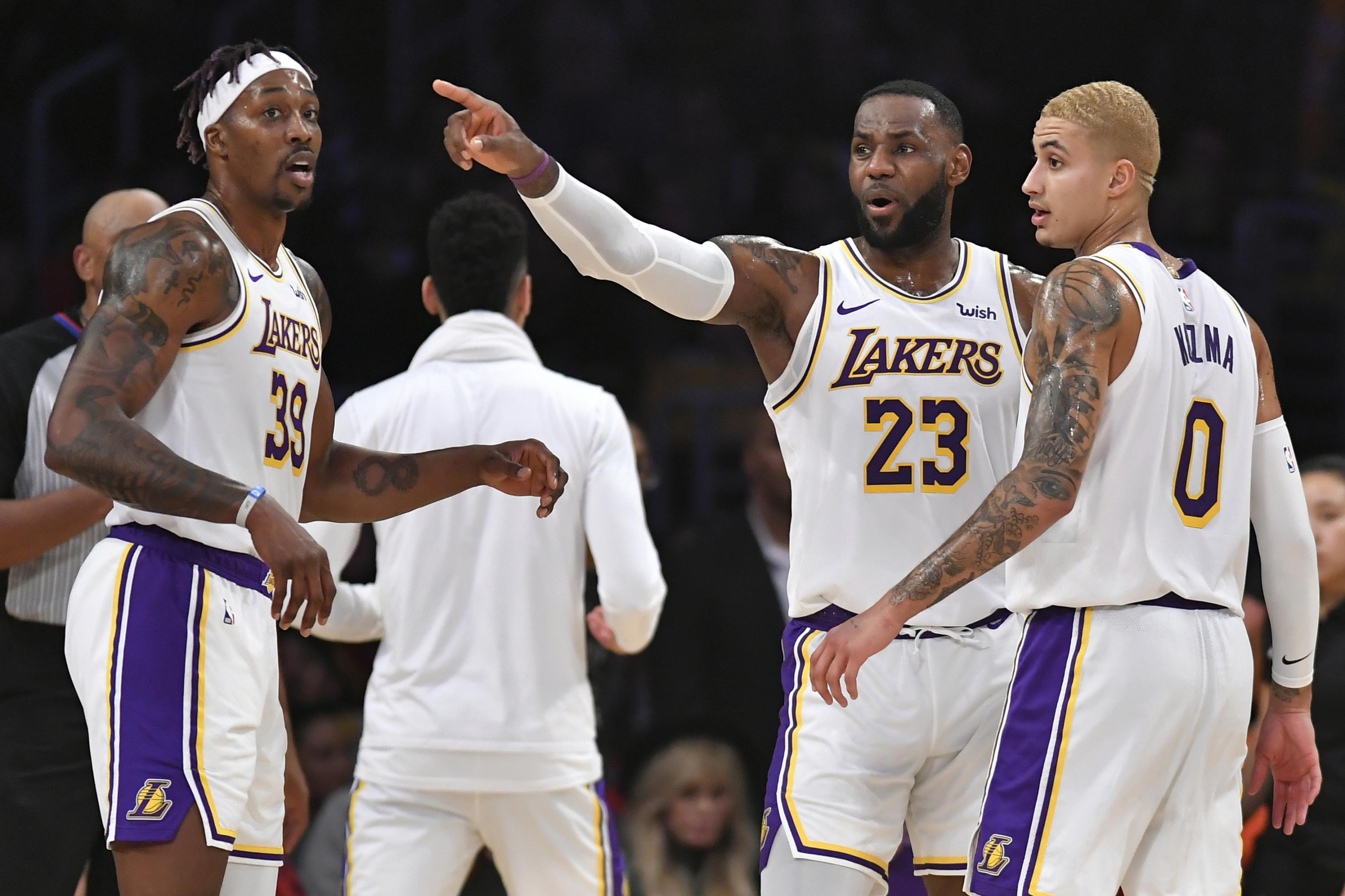 Report: 'No Divide' Among Lakers Players Amid Dwight Howard's ...