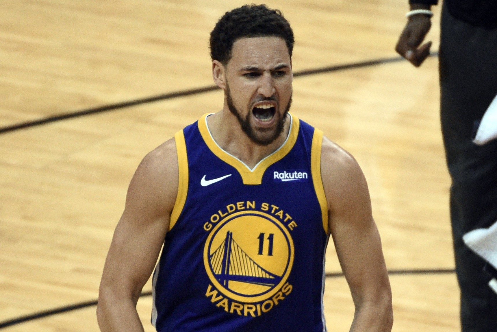 Report: Warriors' Klay Thompson Training Without Restrictions After ACL  Injury | Bleacher Report | Latest News, Videos and Highlights