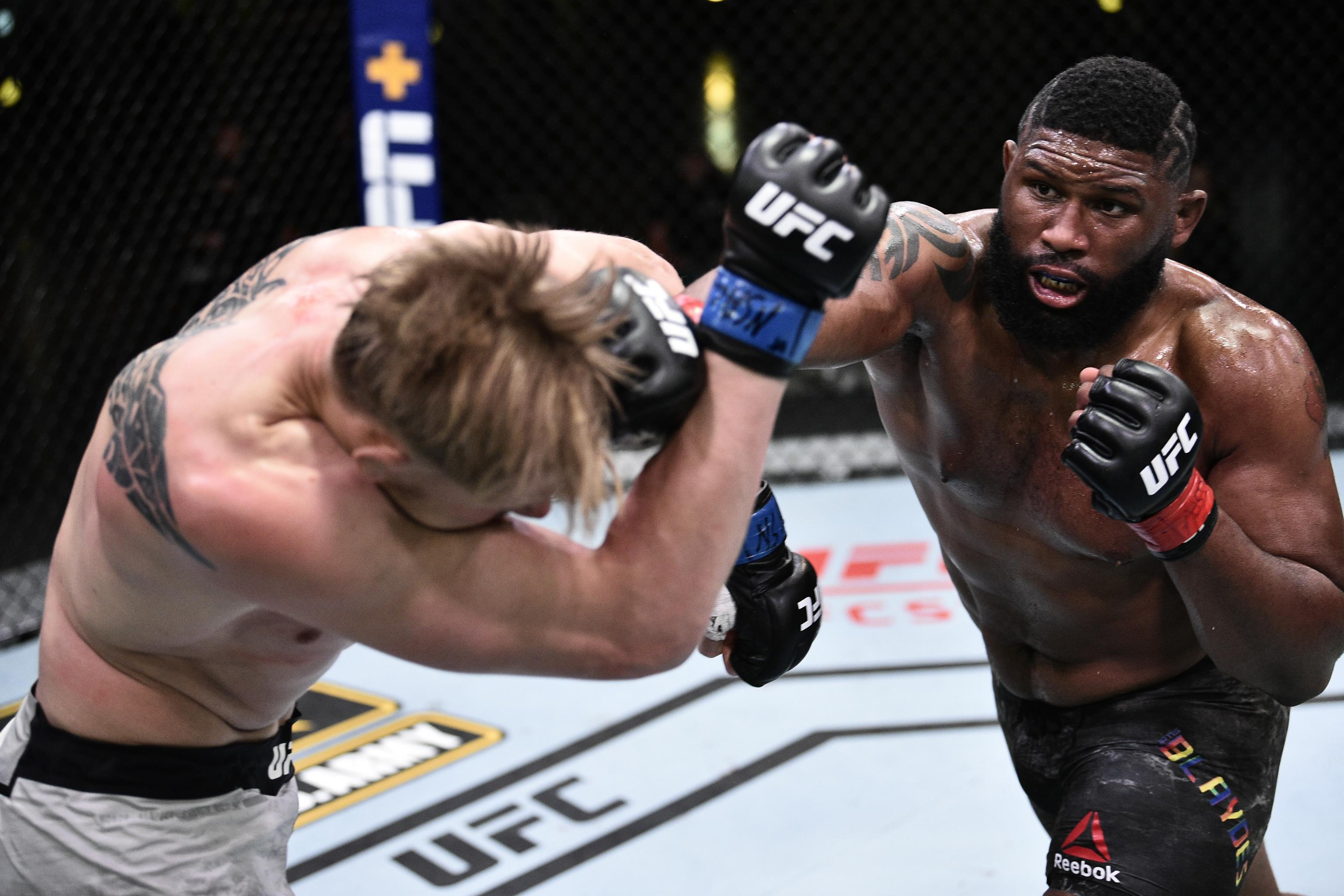 Ufc On Espn 11 Results Curtis Blaydes Beats Alexander Volkov Via Decision Bleacher Report Latest News Videos And Highlights