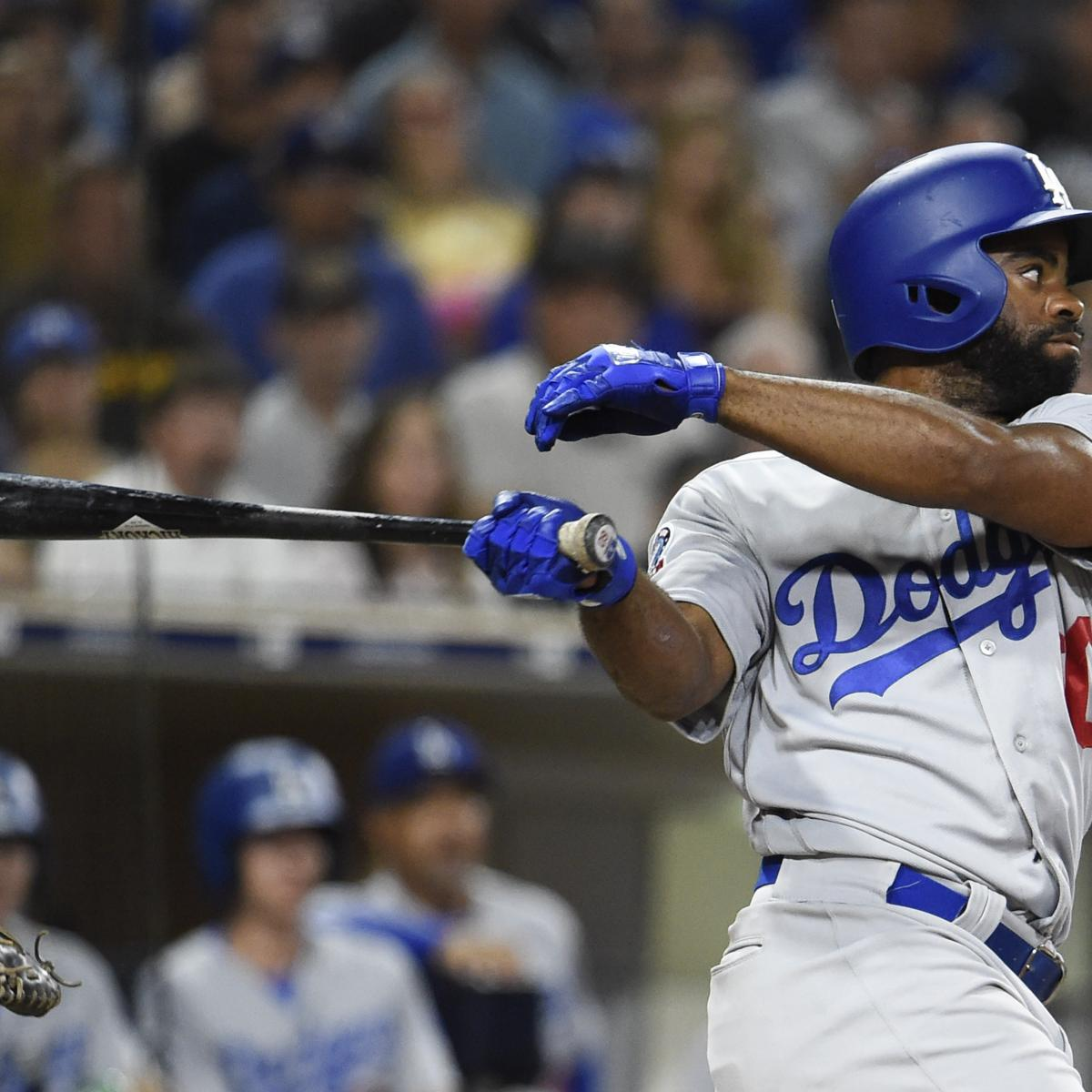 Dodgers' Andrew Toles Arrested After Being Found Sleeping Behind Florida Airport