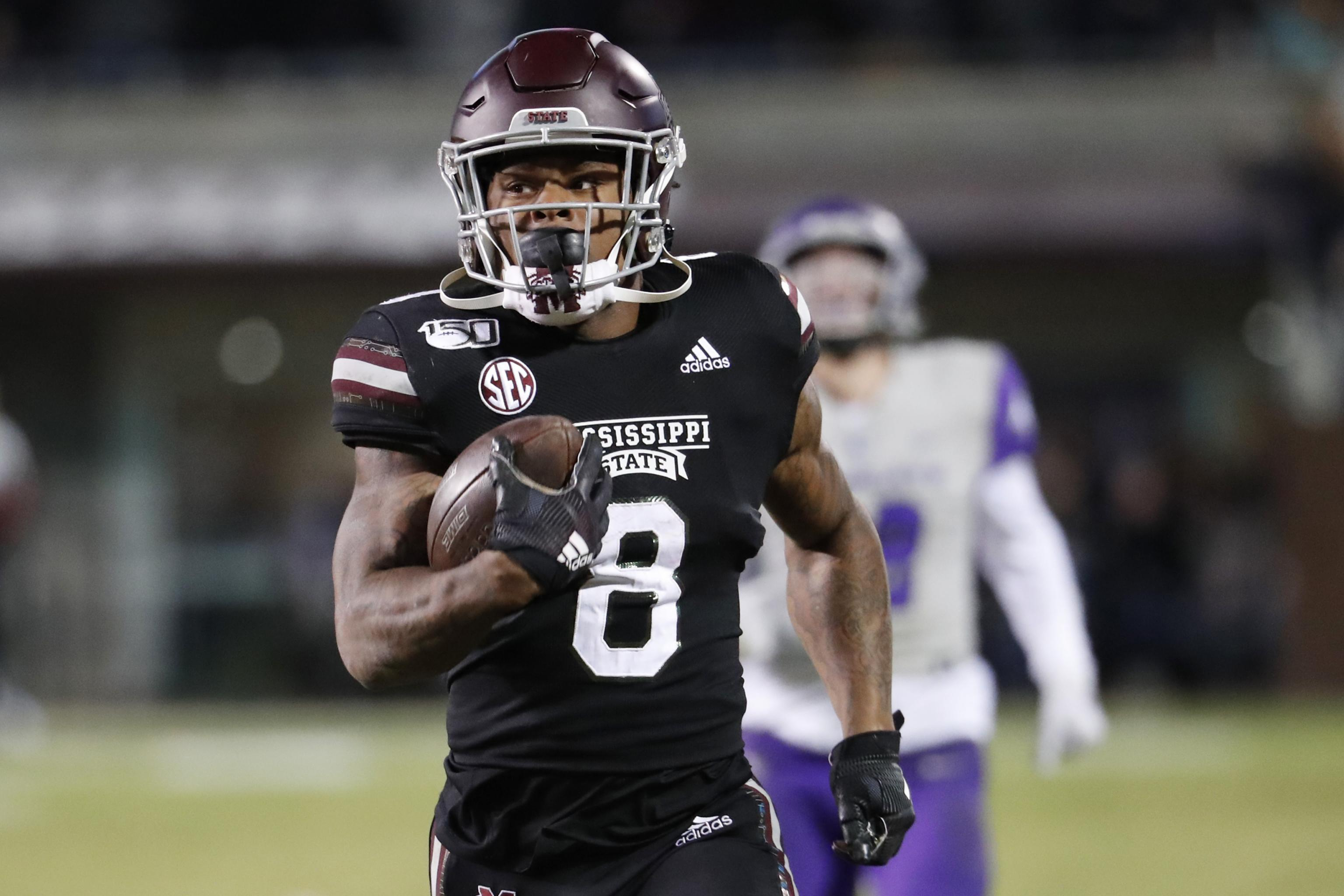 Mississippi State's Kylin Hill Reacts to Resolution Allowing for ...