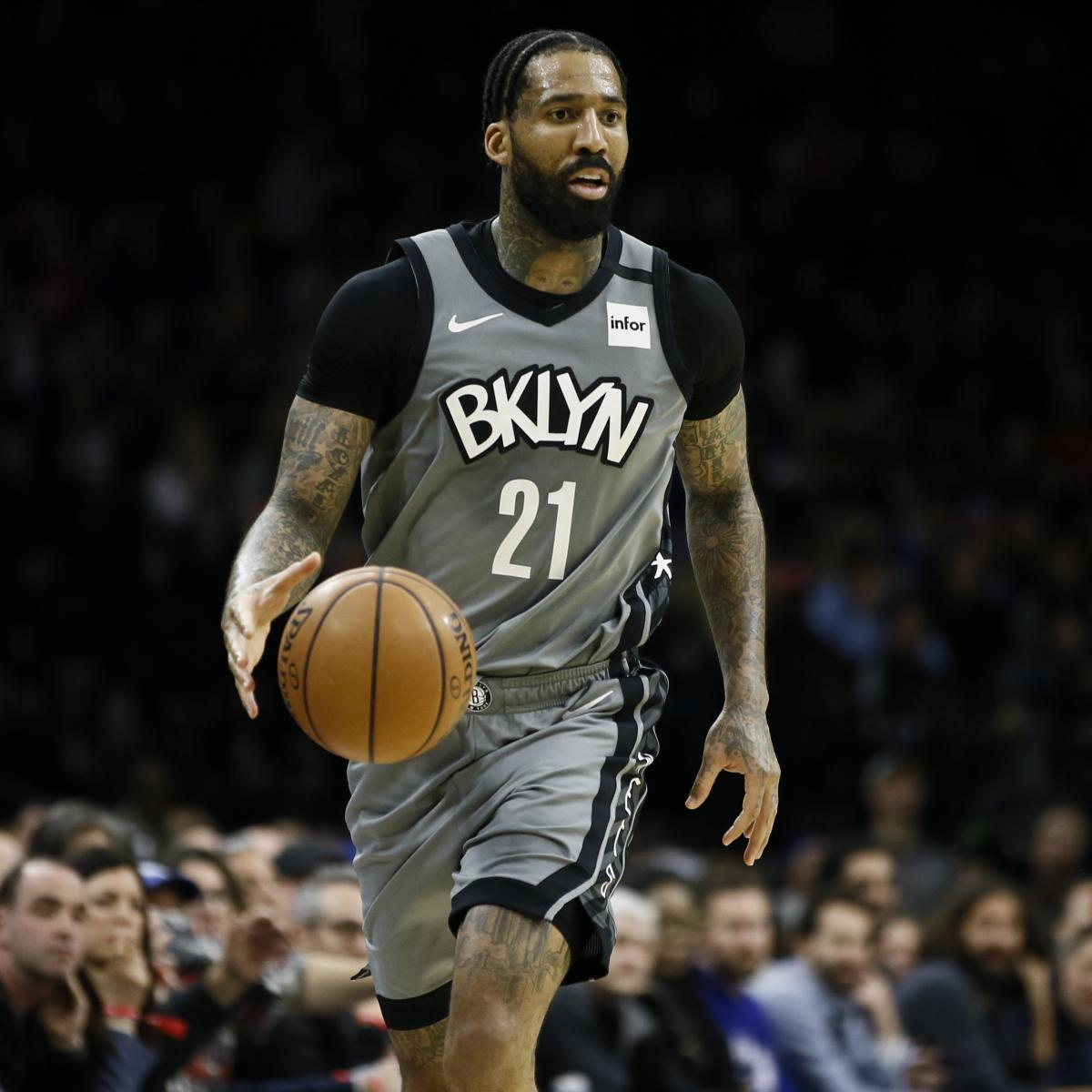 Nets' Wilson Chandler Opts out of NBA Restart to Protect Health of His Family
