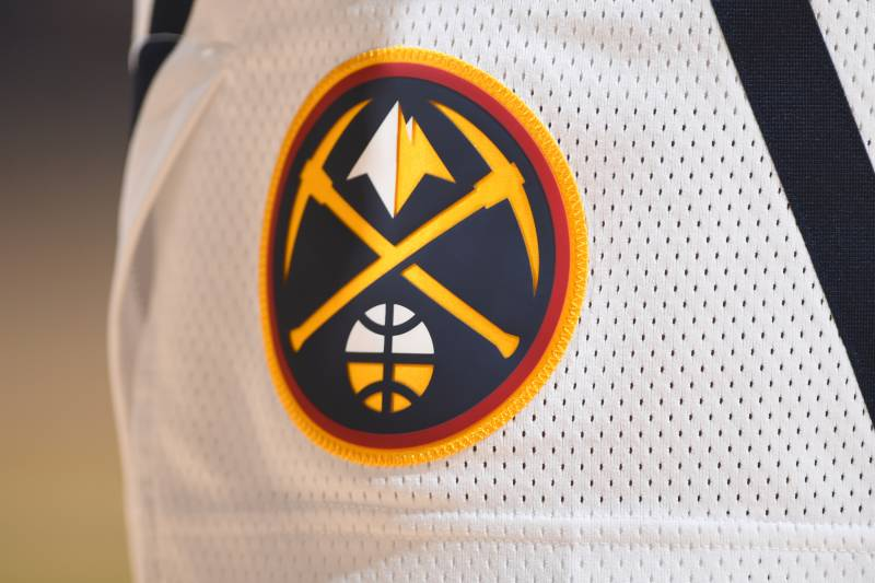 """DENVER, CO - OCTOBER 23: A generic close look at the Denver Nuggets shorts logo in the game against the Sacramento Kings on October 23, 2018 at the Pepsi Center in Denver, Colorado. USER NOTE: You expressly acknowledge and agree that by downloading and using this photograph, you agree to the terms and conditions of the Getty Images license agreement. Mandatory Copyright Notice: Copyright 201<div class=""""e3lan e3lan-in-post1""""><script async src=""""//pagead2.googlesyndication.com/pagead/js/adsbygoogle.js""""></script> <!-- Text_Display_Ad --> <ins class=""""adsbygoogle""""      style=""""display:block""""      data-ad-client=""""ca-pub-7542518979287585""""      data-ad-slot=""""2196042218""""      data-ad-format=""""auto""""></ins> <script> (adsbygoogle = window.adsbygoogle 