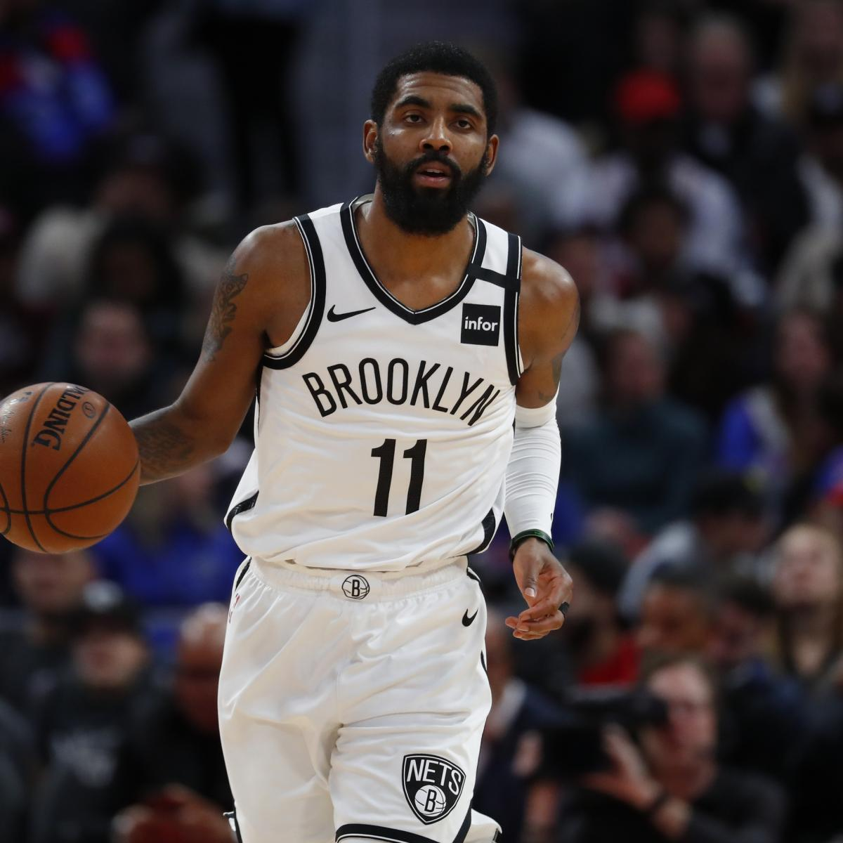 Kyrie Irving Won't Travel with Nets for NBA Restart Amid Shoulder Injury Rehab