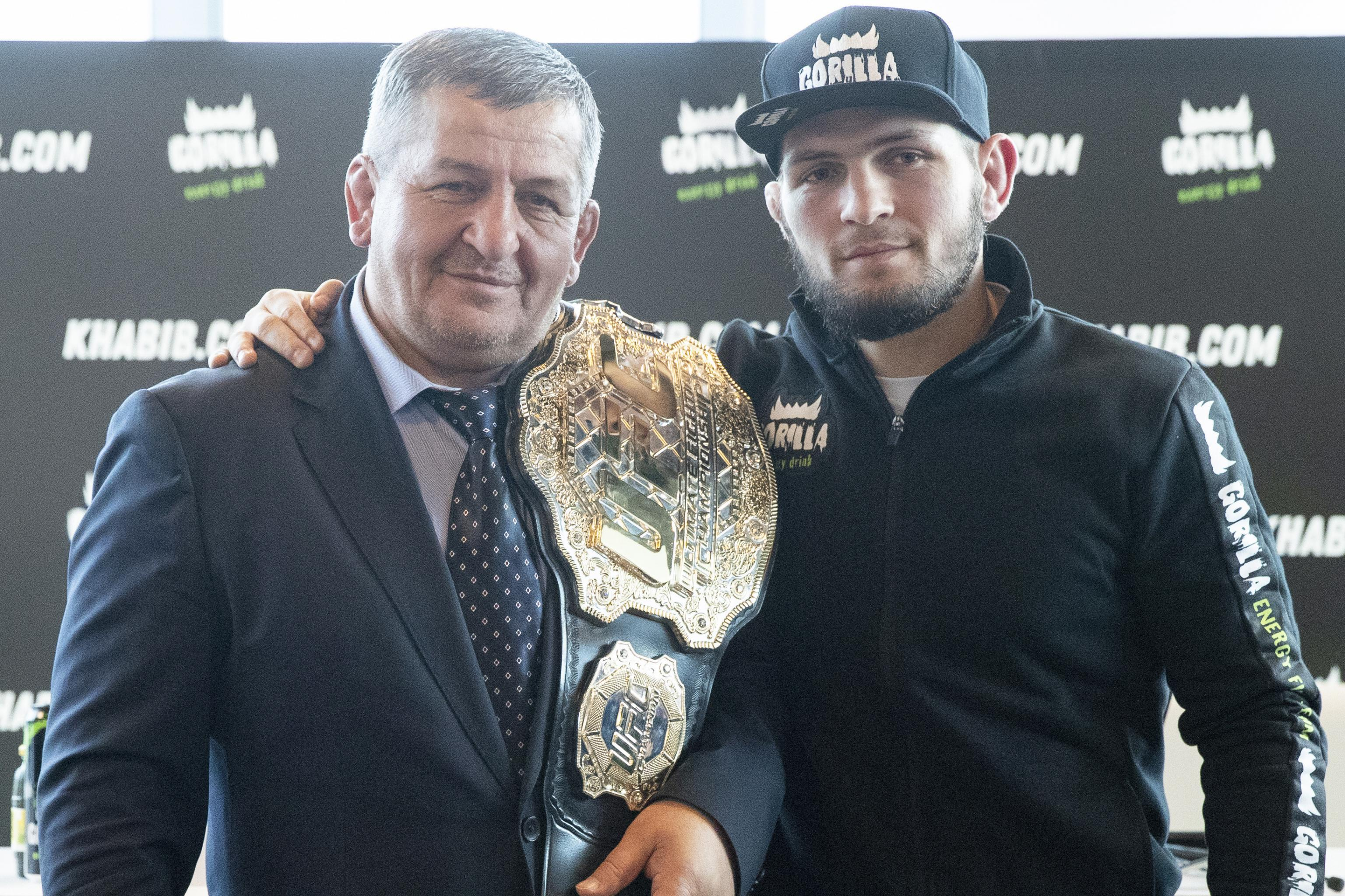 Khabib Nurmagomedov S Father Trainer Abdulmanap Dies At Age 57 Bleacher Report Latest News Videos And Highlights